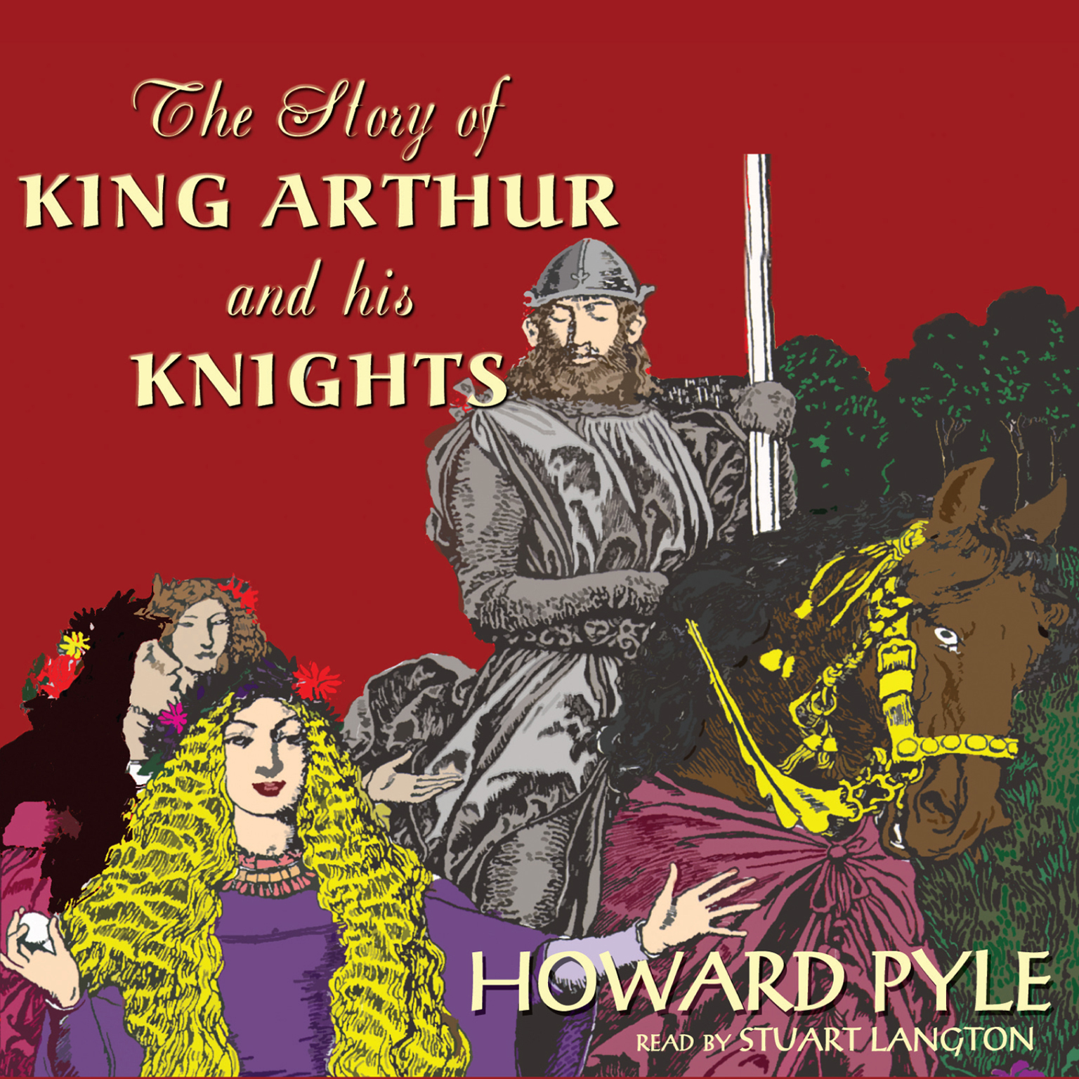 Printable The Story of King Arthur and His Knights Audiobook Cover Art