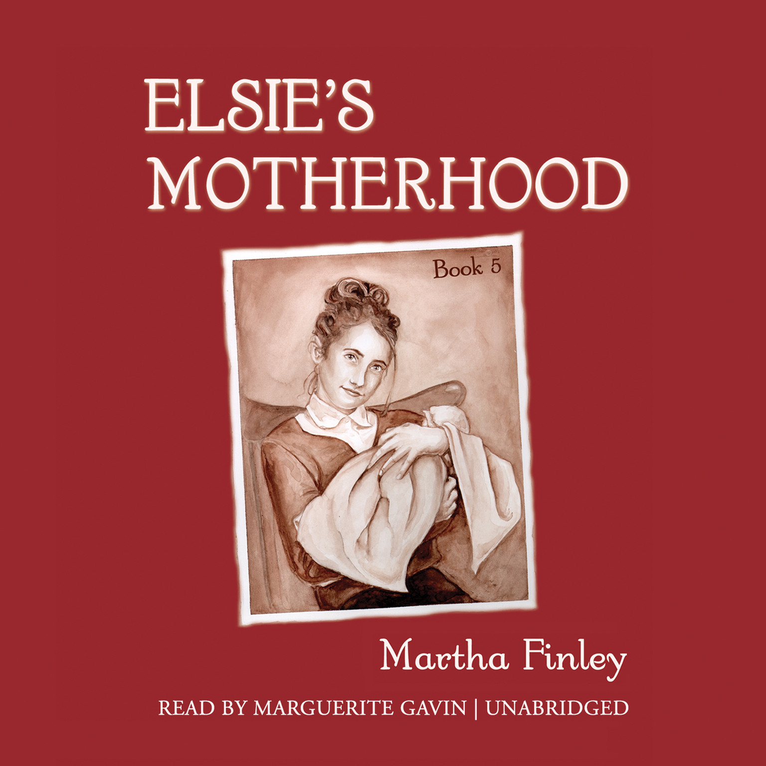 Printable Elsie's Motherhood Audiobook Cover Art