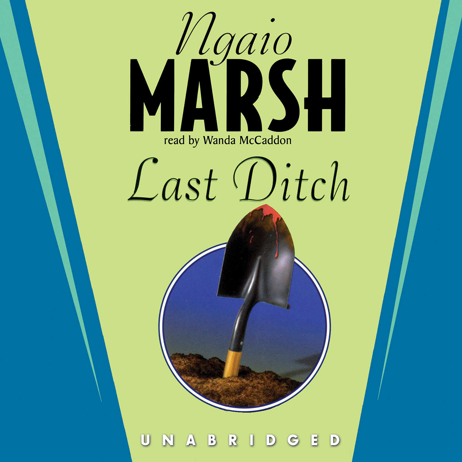 Printable Last Ditch Audiobook Cover Art