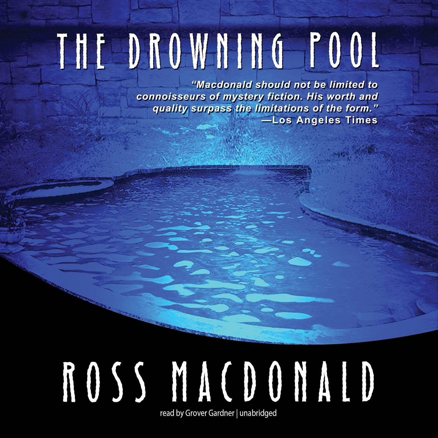 Printable The Drowning Pool Audiobook Cover Art