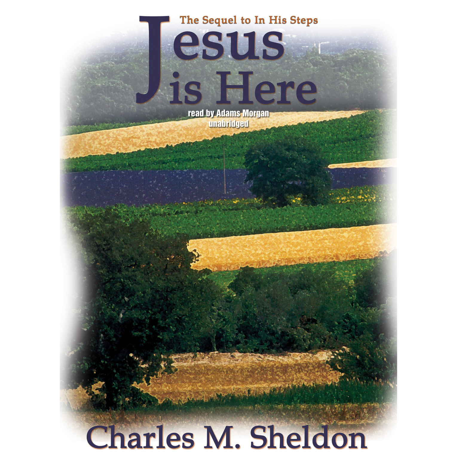 Printable Jesus Is Here Audiobook Cover Art