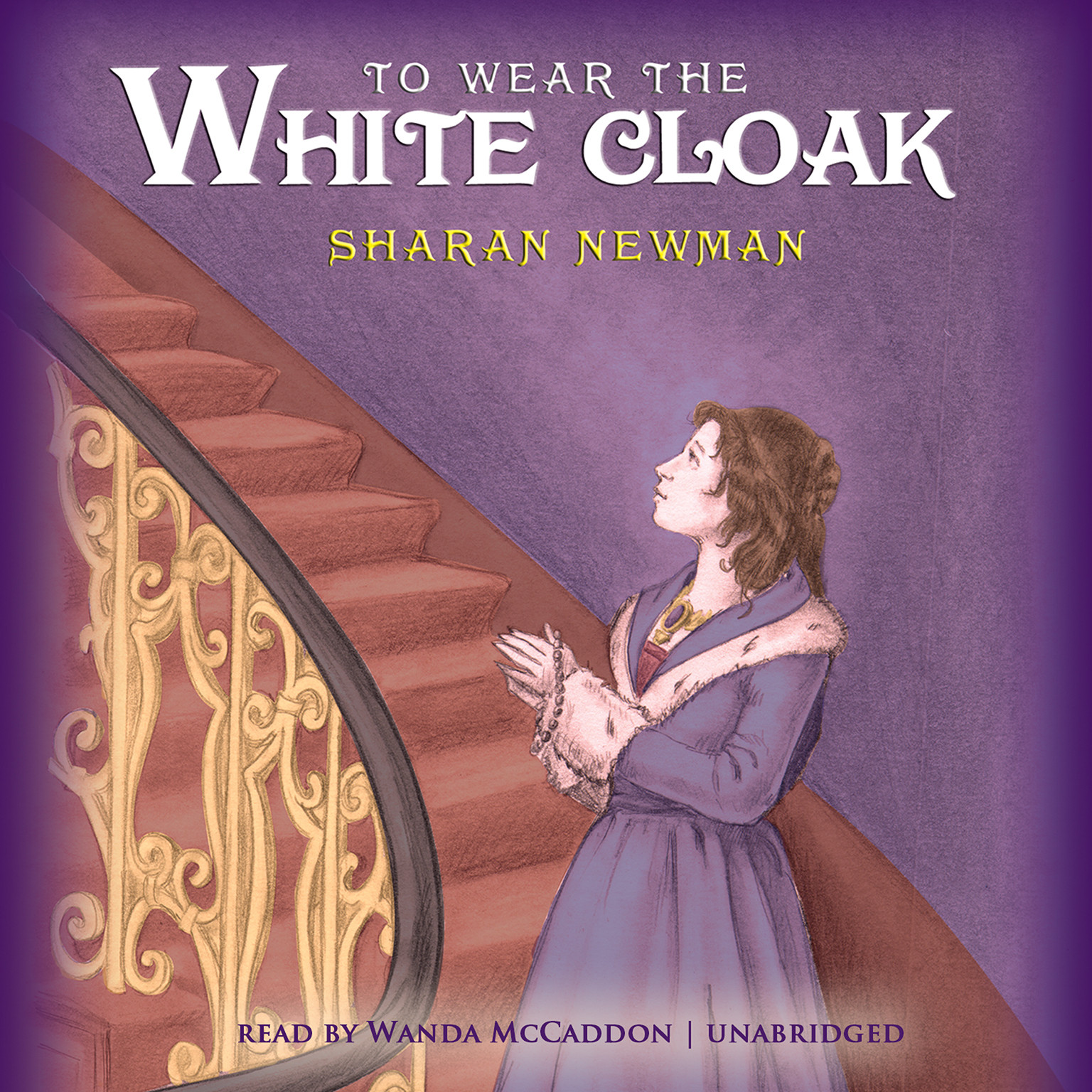 Printable To Wear the White Cloak Audiobook Cover Art