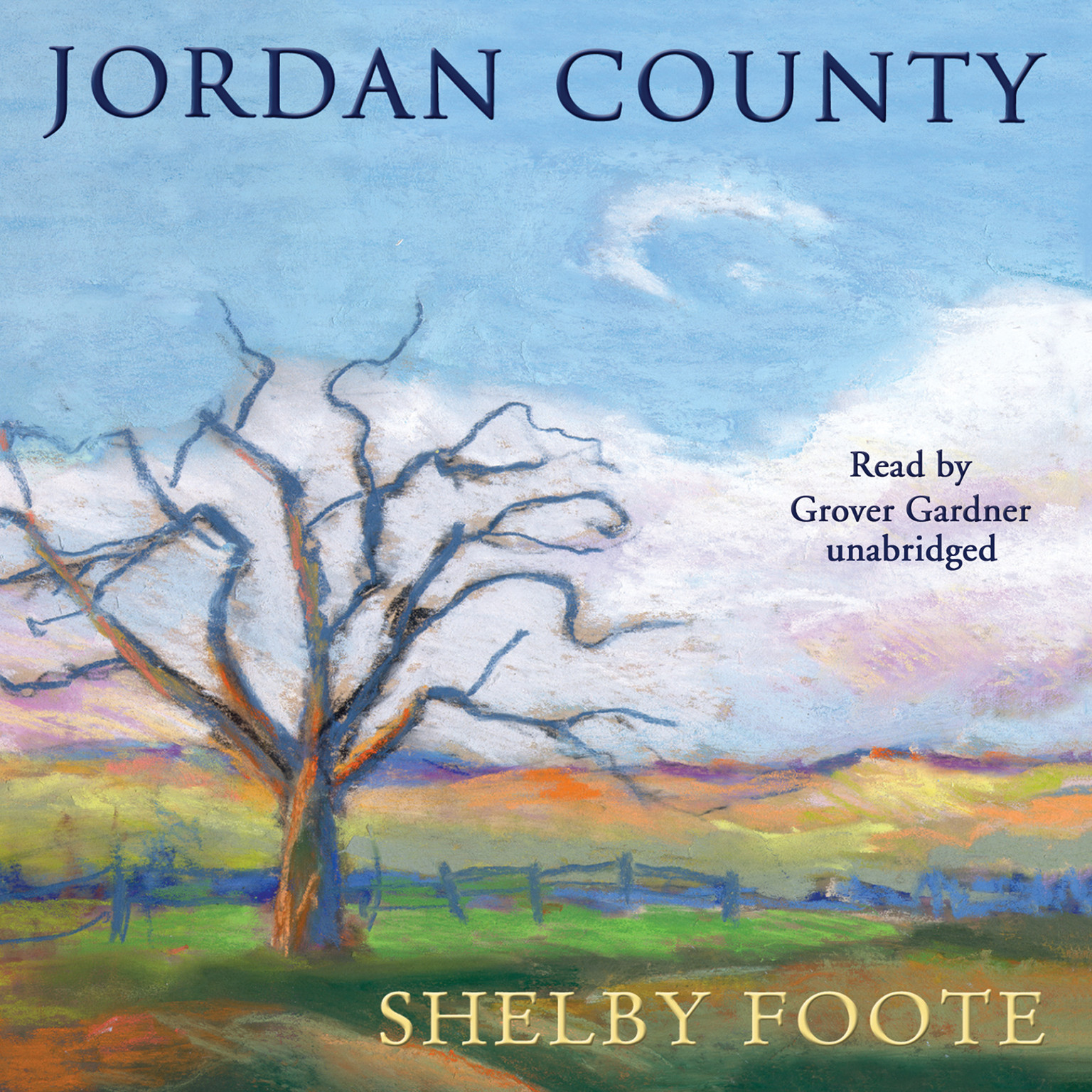Printable Jordan County: A Landscape in Narrative Audiobook Cover Art