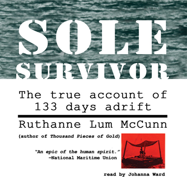 Printable Sole Survivor Audiobook Cover Art