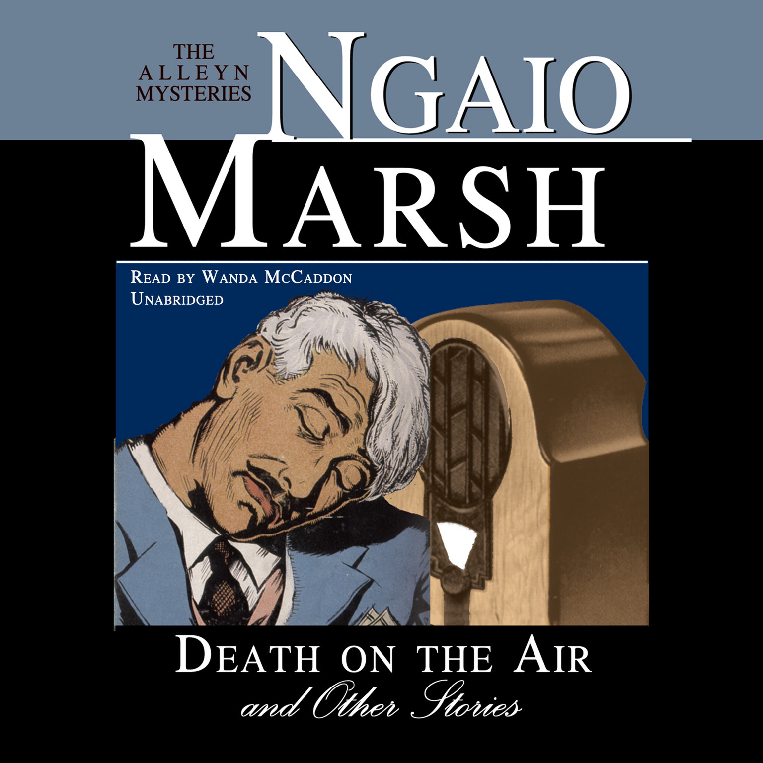 Printable Death on the Air, and Other Stories Audiobook Cover Art