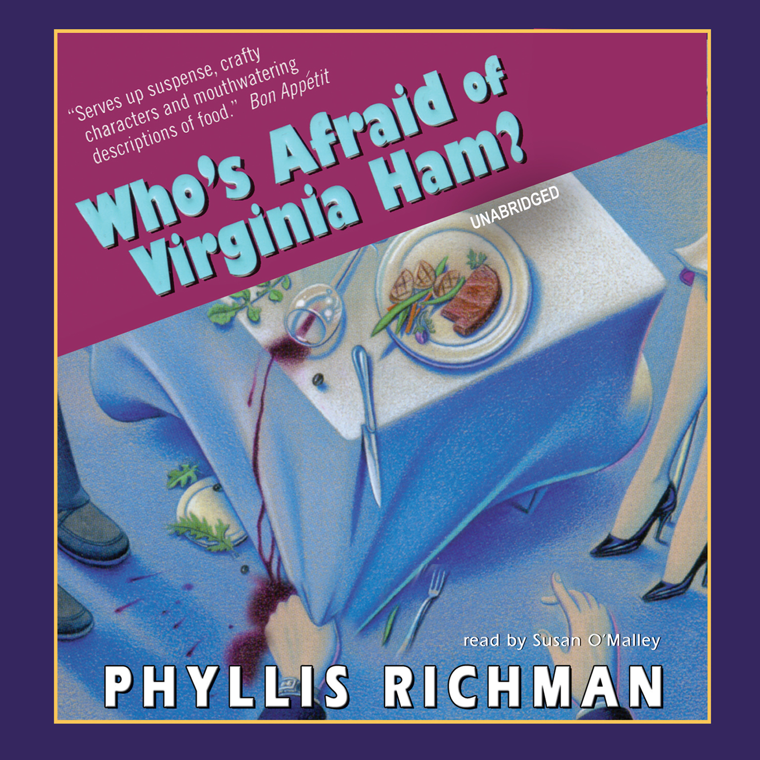 Printable Who's Afraid of Virginia Ham? Audiobook Cover Art