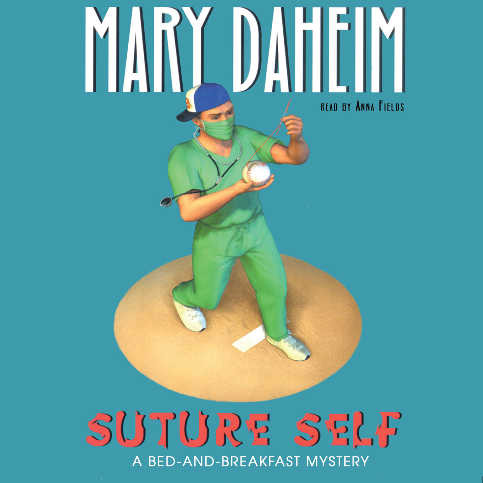 Printable Suture Self: A Bed-and-Breakfast Mystery Audiobook Cover Art