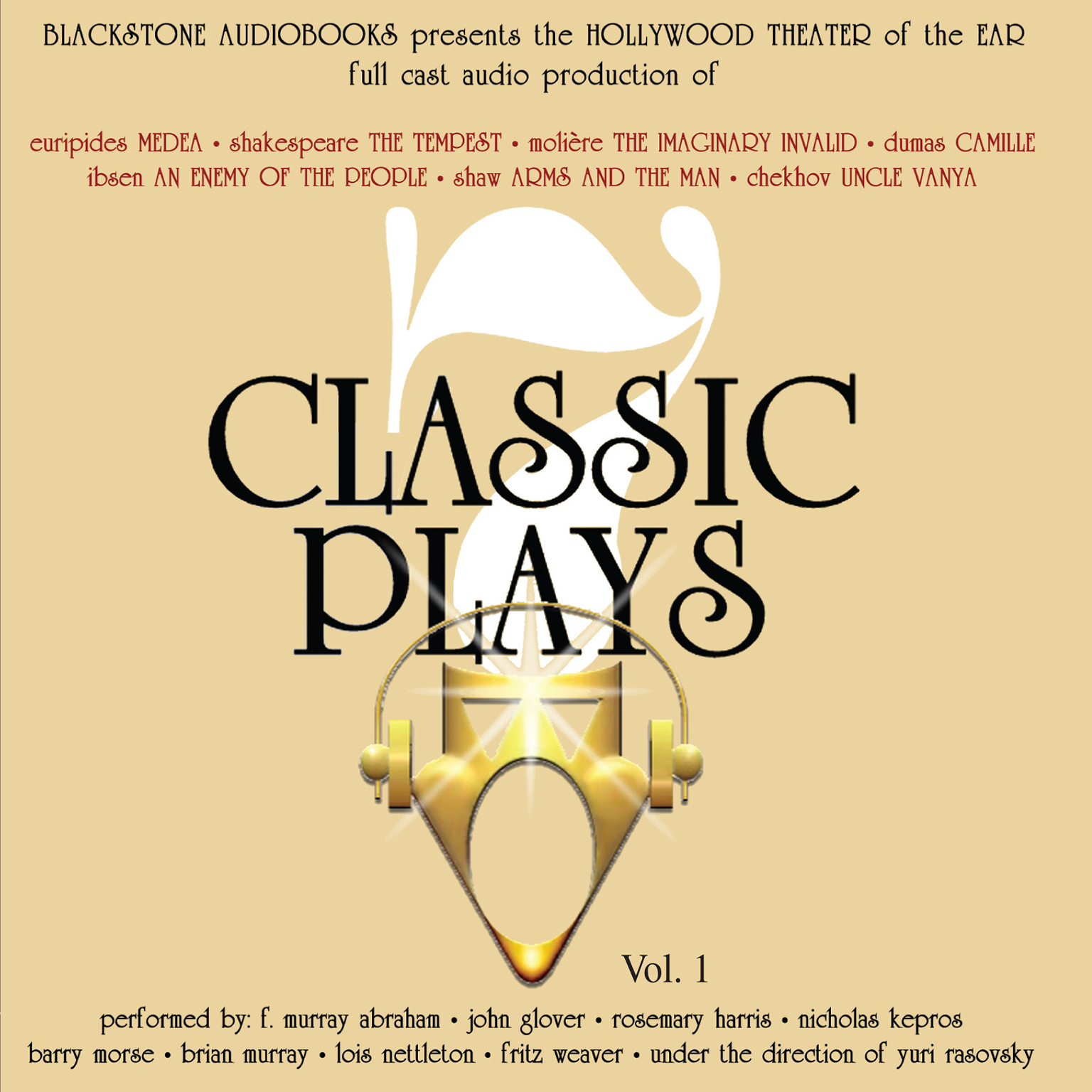 Printable Seven Classic Plays Audiobook Cover Art