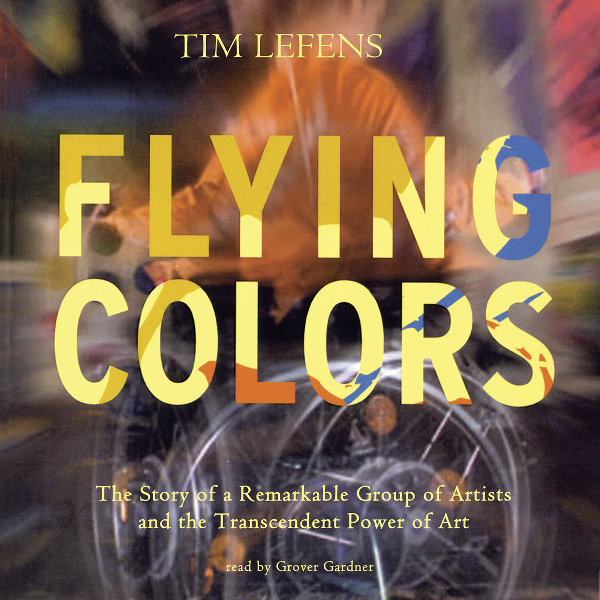 Printable Flying Colors Audiobook Cover Art
