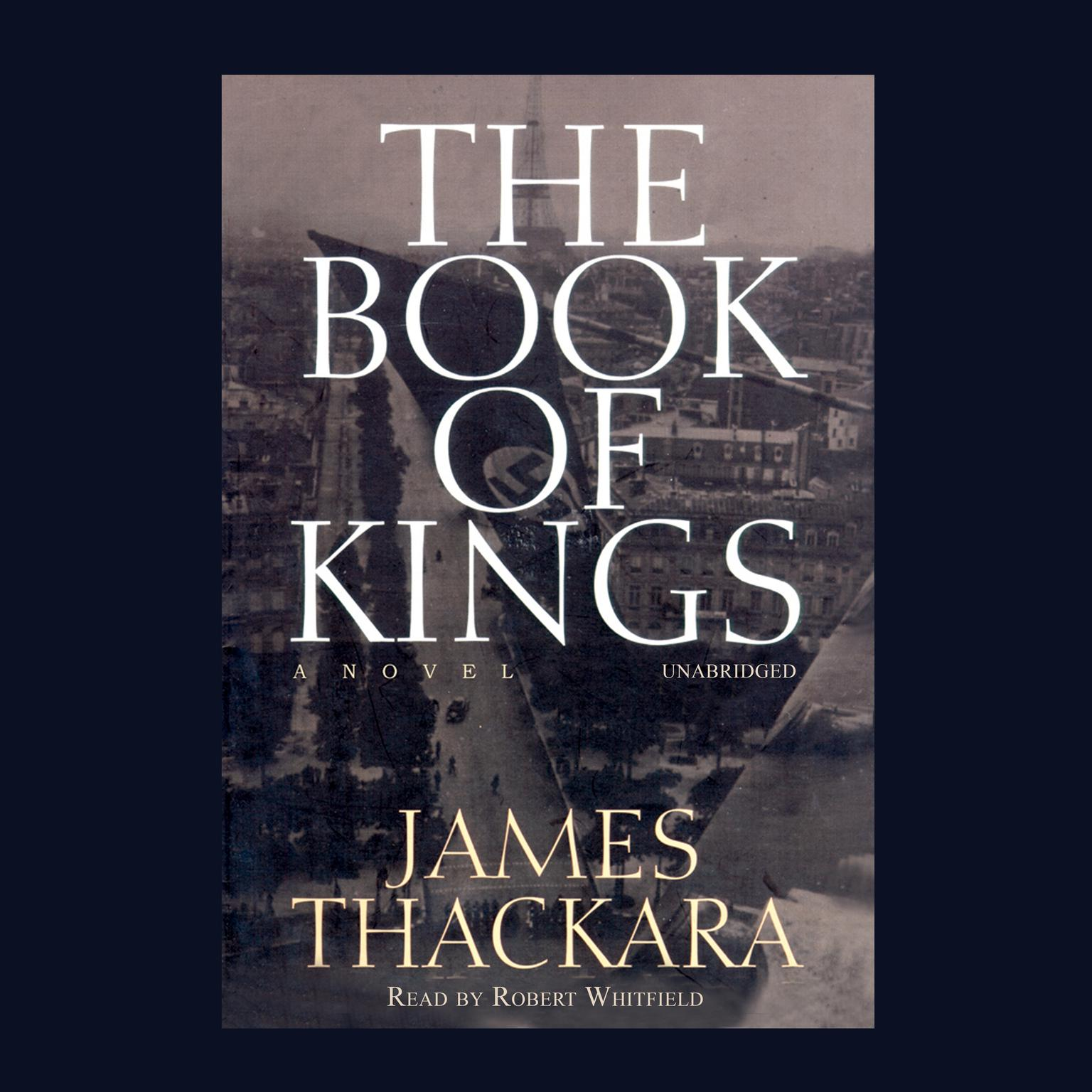 Printable The Book of Kings Audiobook Cover Art