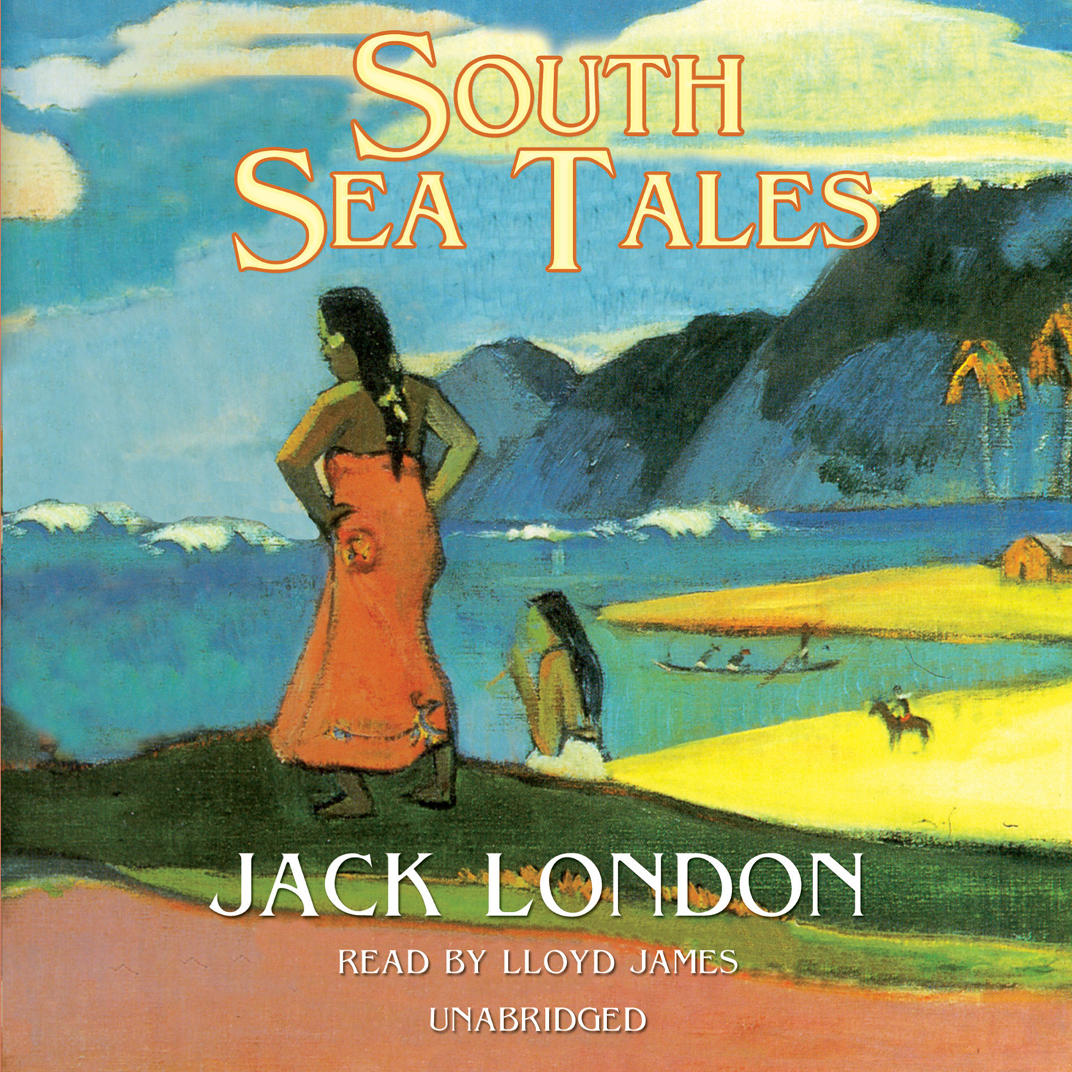 Printable South Sea Tales Audiobook Cover Art