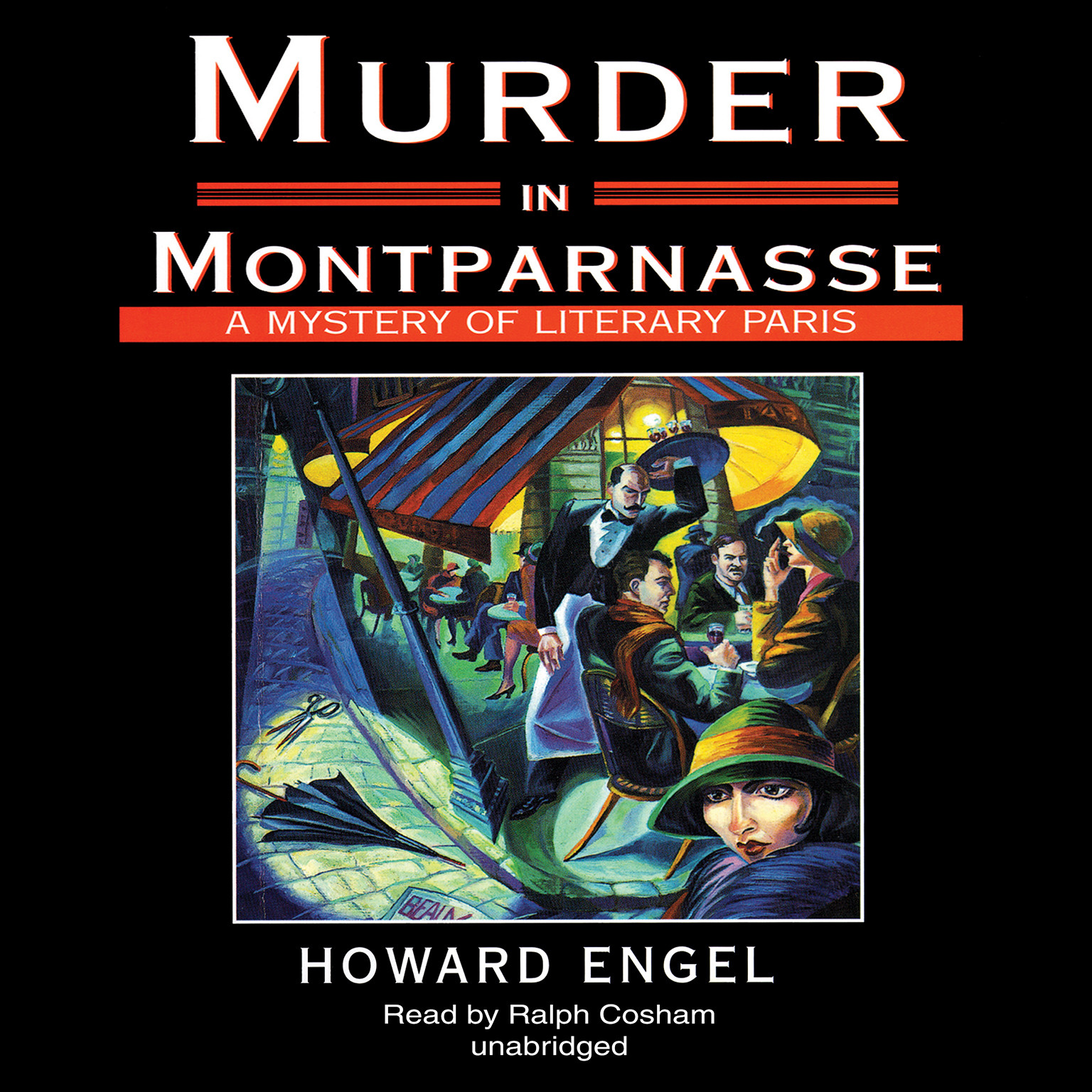 Printable Murder in Montparnasse Audiobook Cover Art