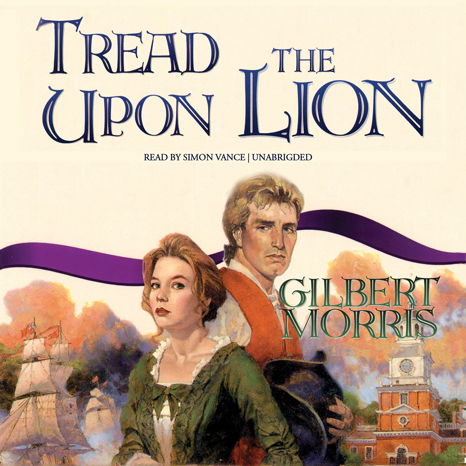 Printable Tread upon the Lion Audiobook Cover Art