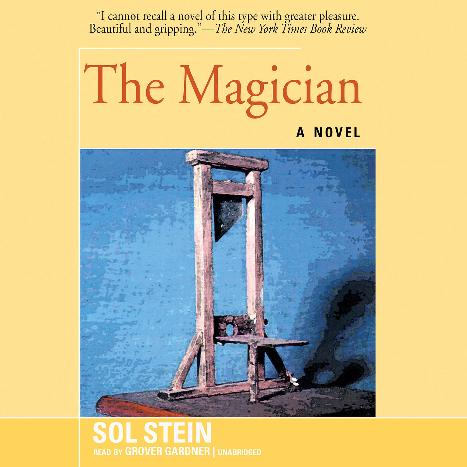 Printable The Magician Audiobook Cover Art