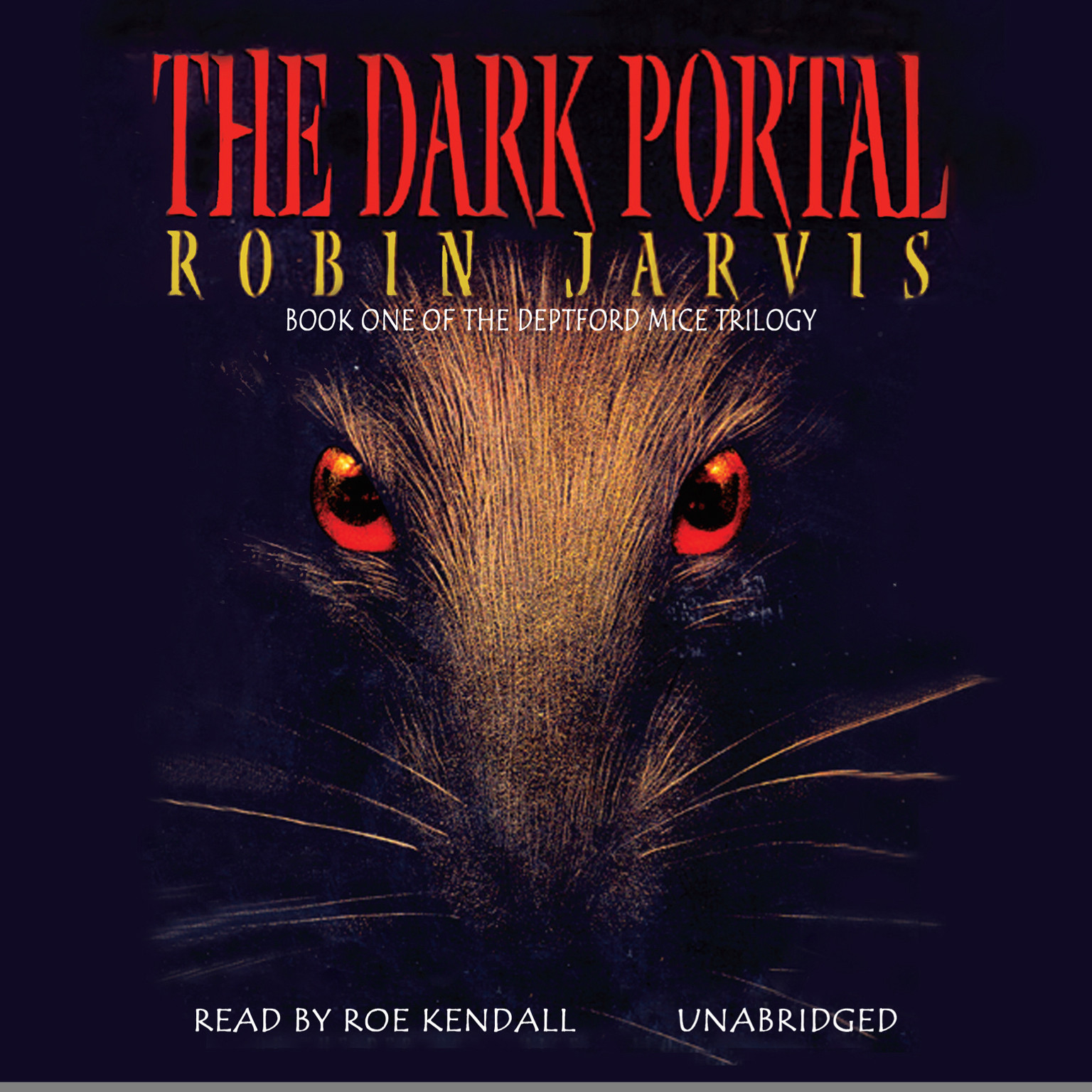 Printable The Dark Portal Audiobook Cover Art