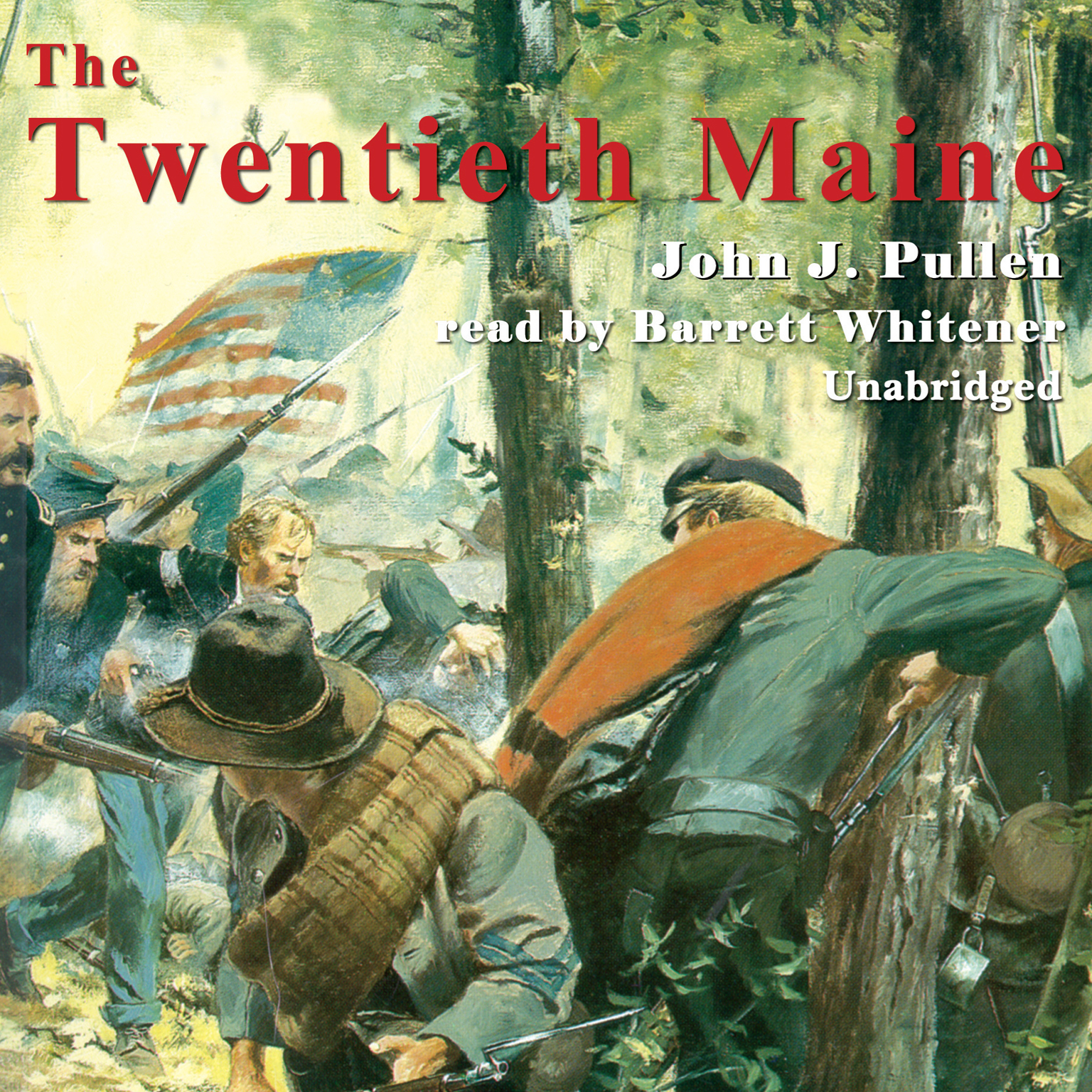Printable The Twentieth Maine: A Volunteer Regiment in the Civil War Audiobook Cover Art