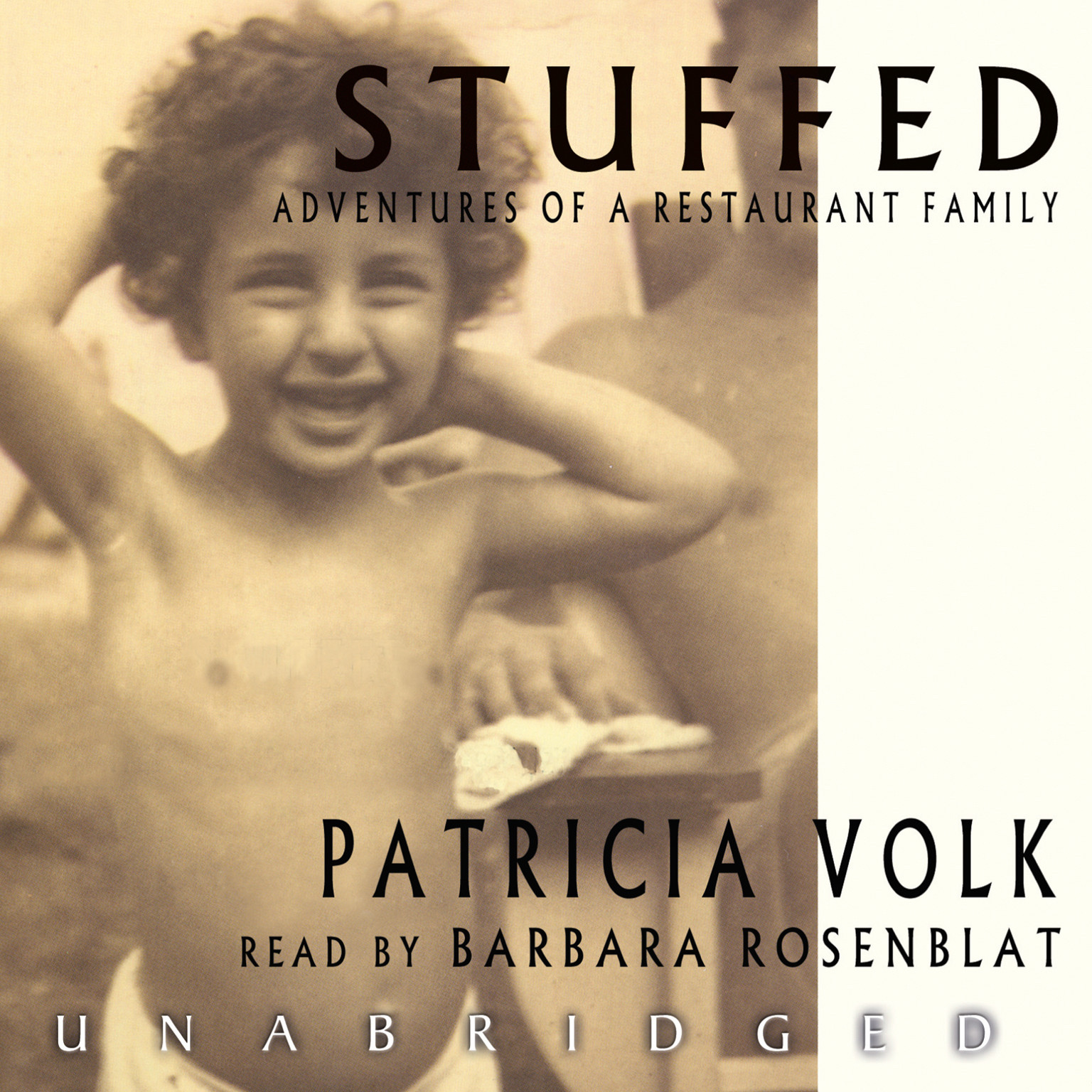 Printable Stuffed: Adventures of a Restaurant Family Audiobook Cover Art