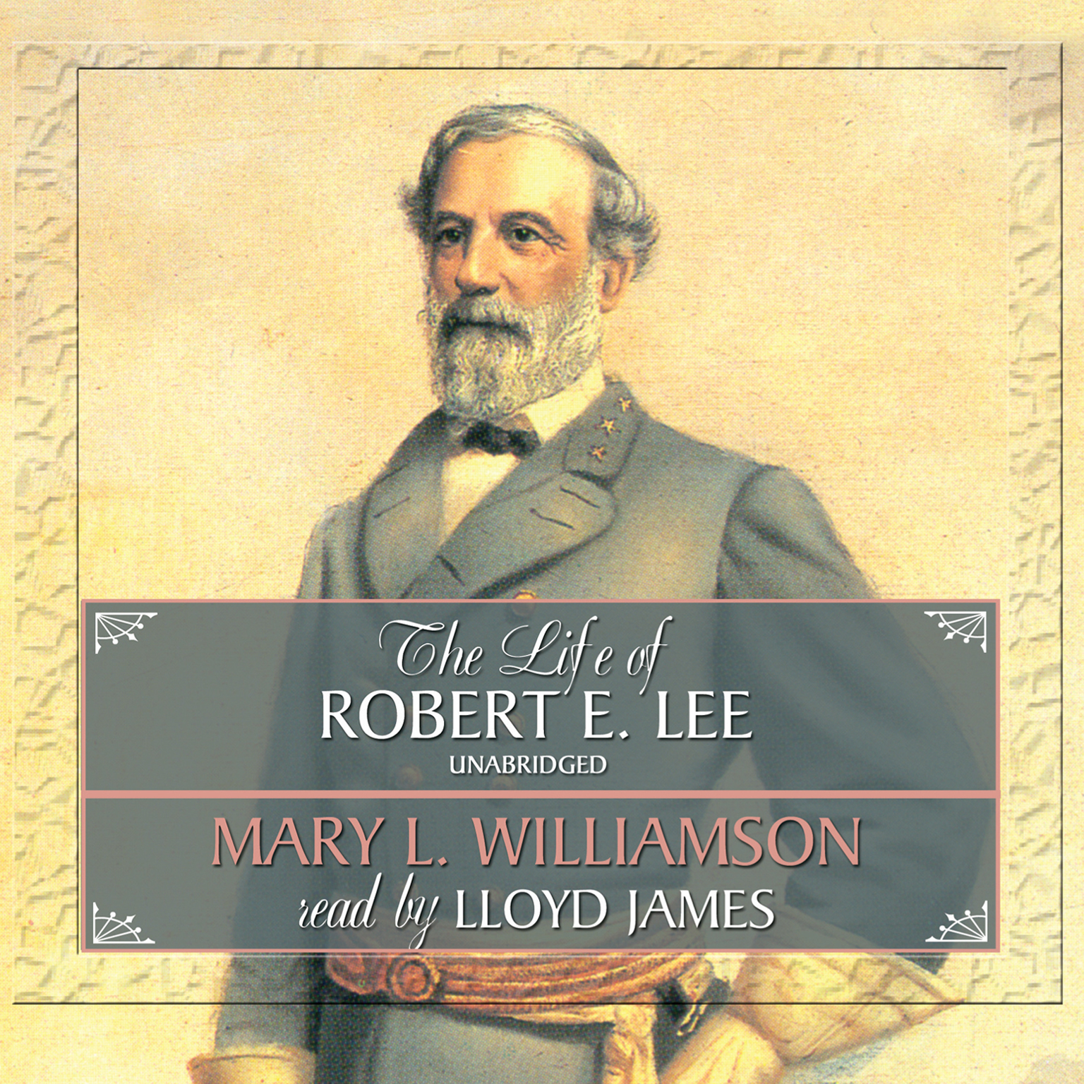 Printable The Life of Robert E. Lee Audiobook Cover Art