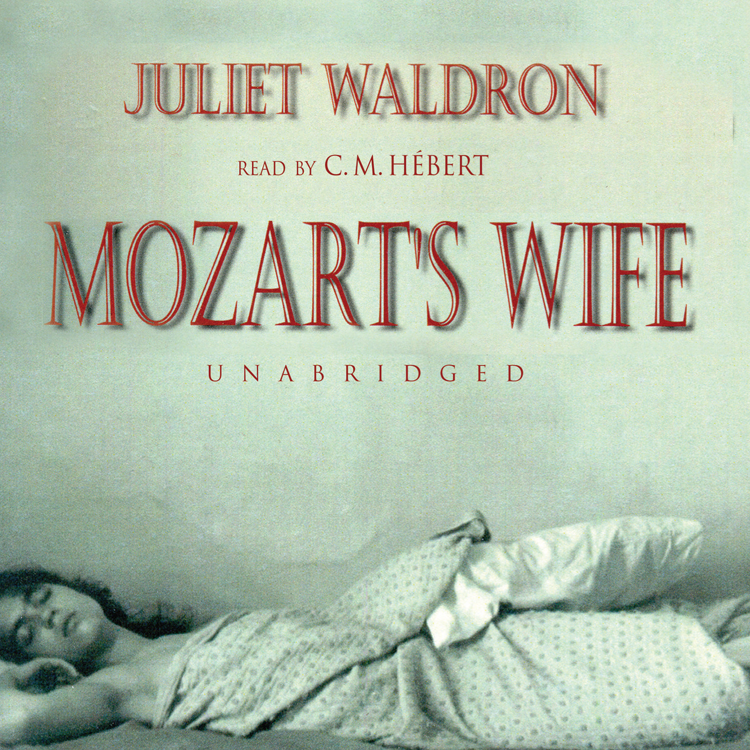 Printable Mozart's Wife Audiobook Cover Art