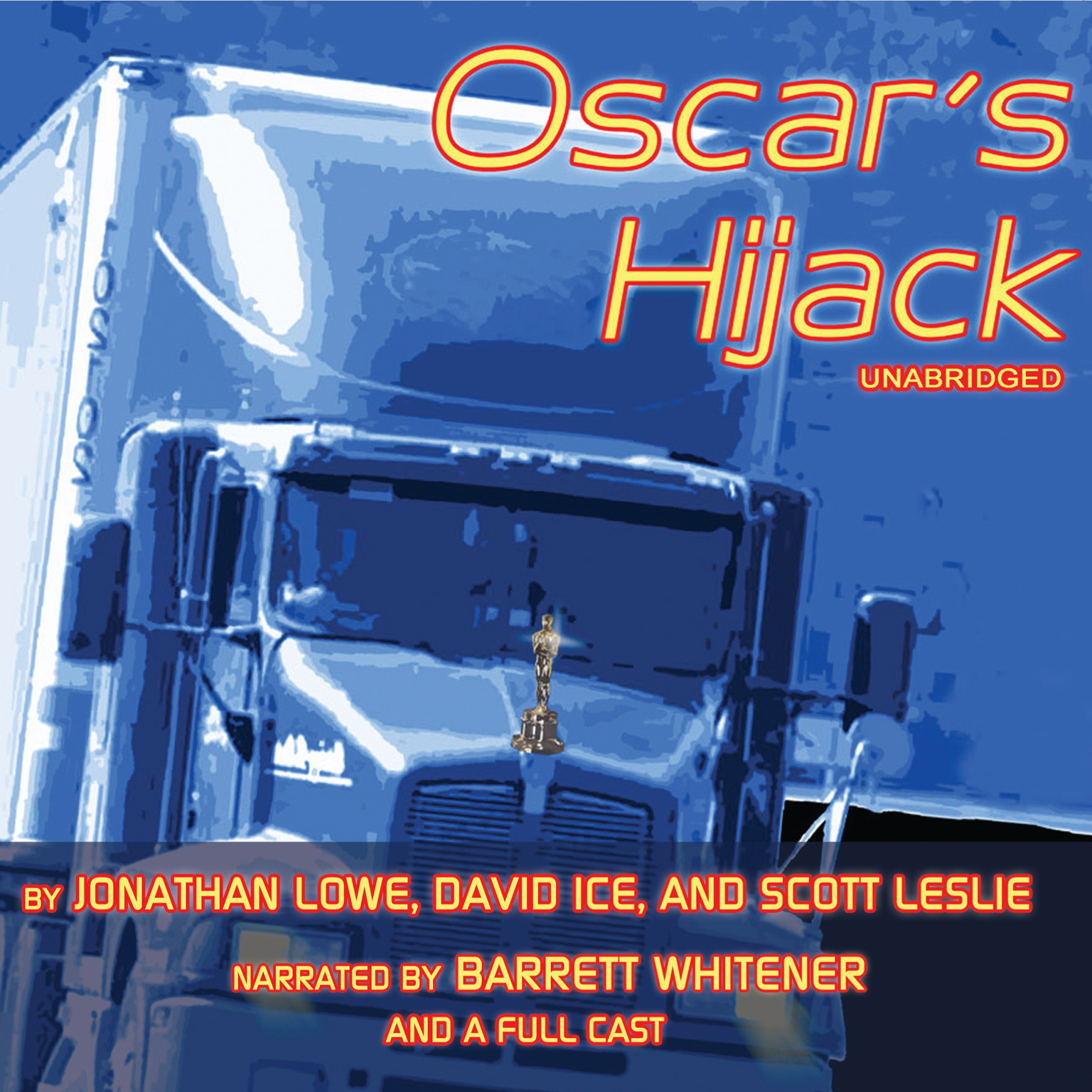 Printable Oscar's Hijack Audiobook Cover Art