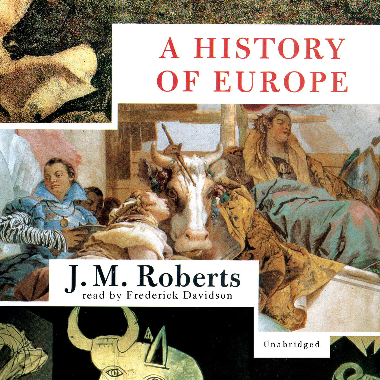 Printable A History of Europe: Part Two Audiobook Cover Art