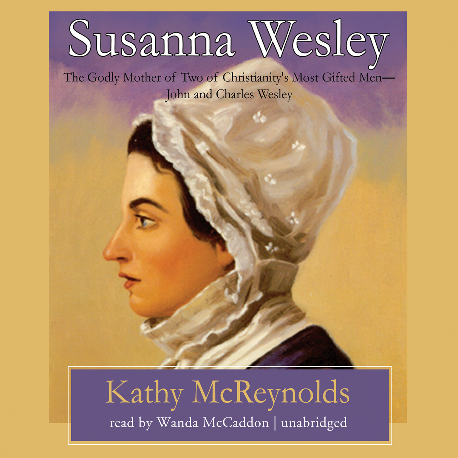 Printable Susanna Wesley Audiobook Cover Art