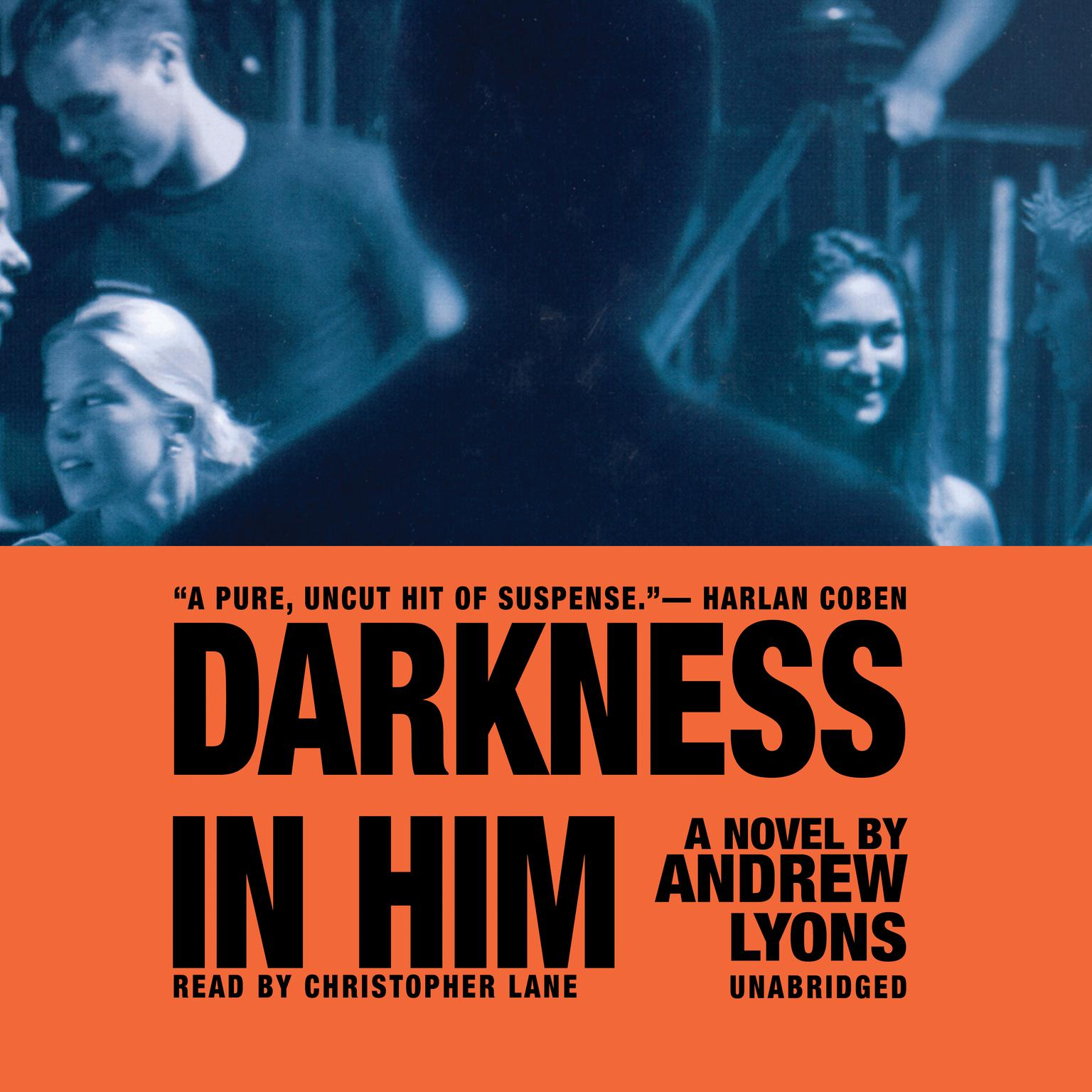 Printable Darkness in Him Audiobook Cover Art