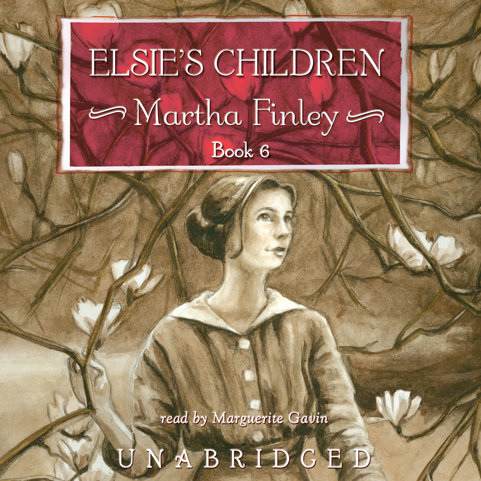 Printable Elsie's Children Audiobook Cover Art