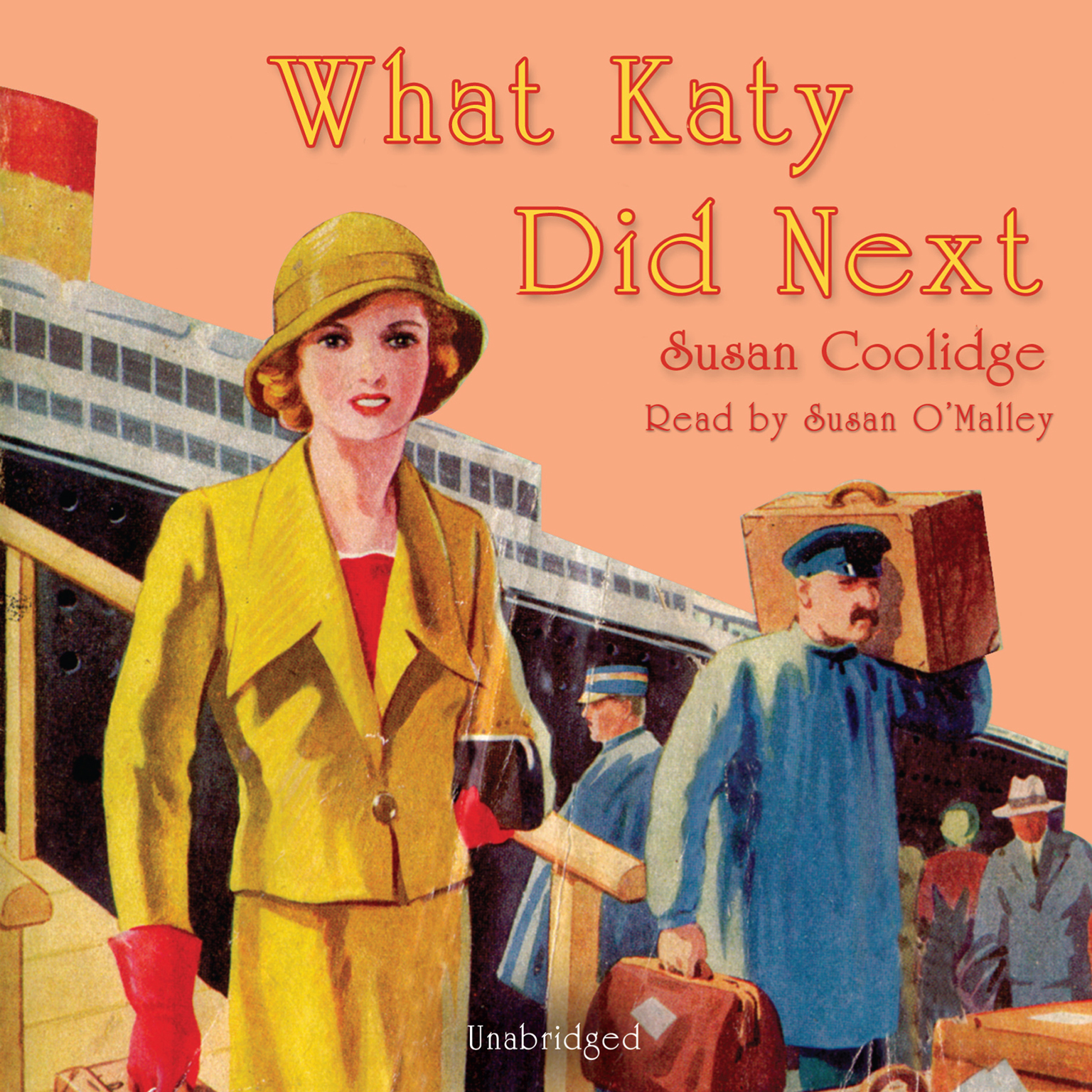 Printable What Katy Did Next Audiobook Cover Art