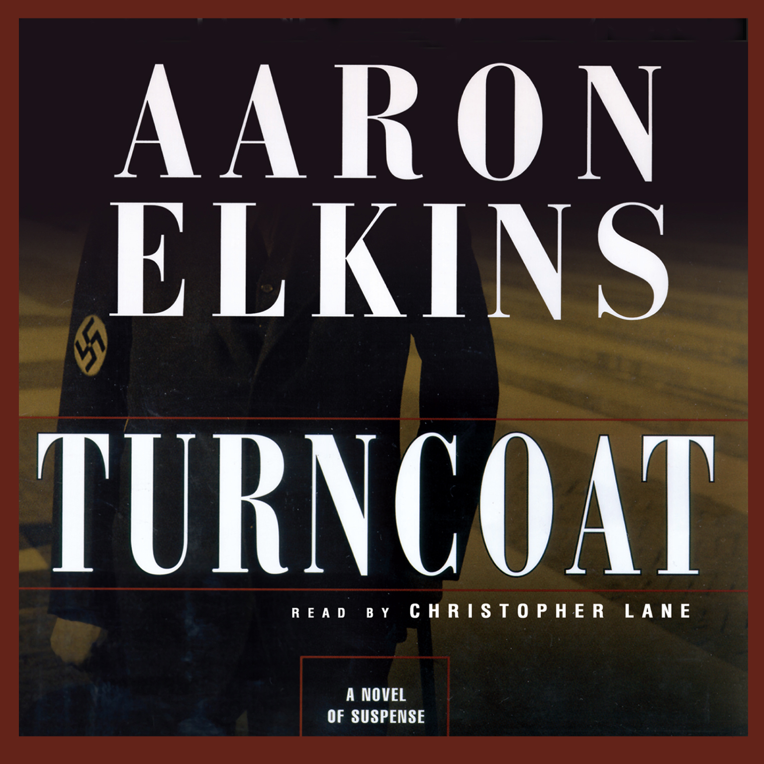Printable Turncoat Audiobook Cover Art