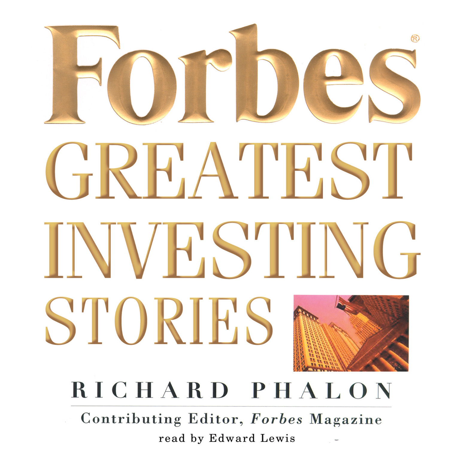 Printable Forbes Greatest Investing Stories Audiobook Cover Art