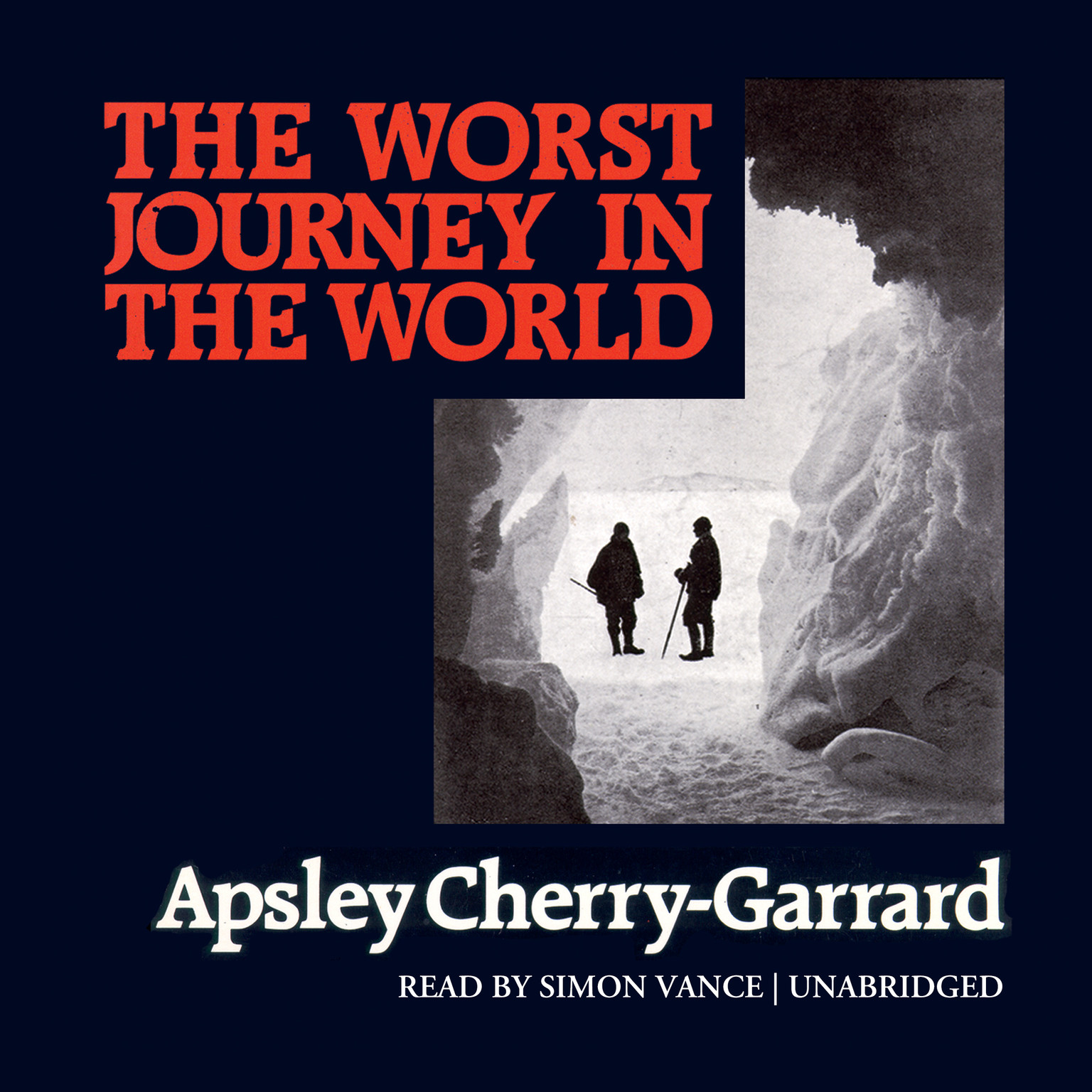 Printable The Worst Journey in the World Audiobook Cover Art