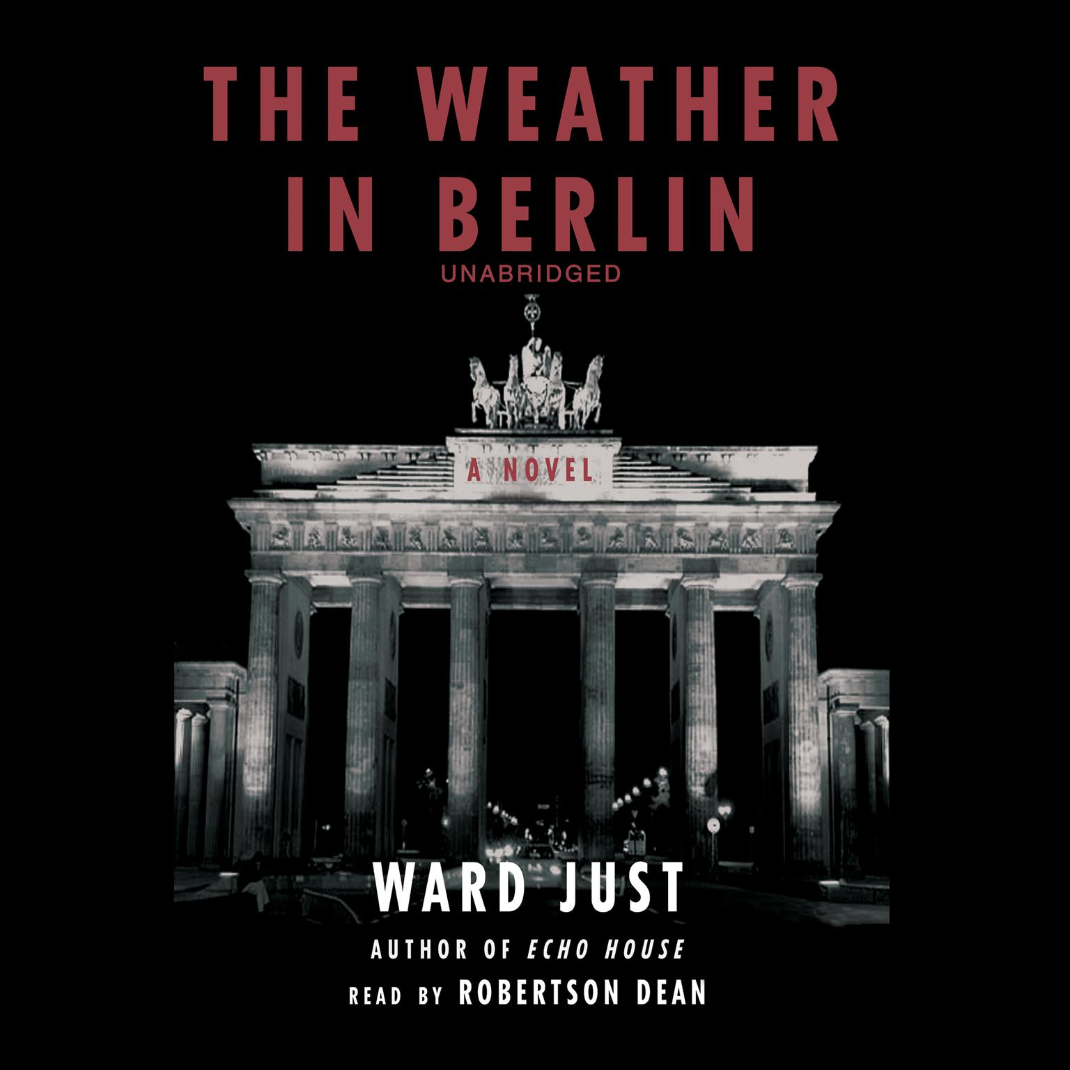 Printable The Weather in Berlin Audiobook Cover Art