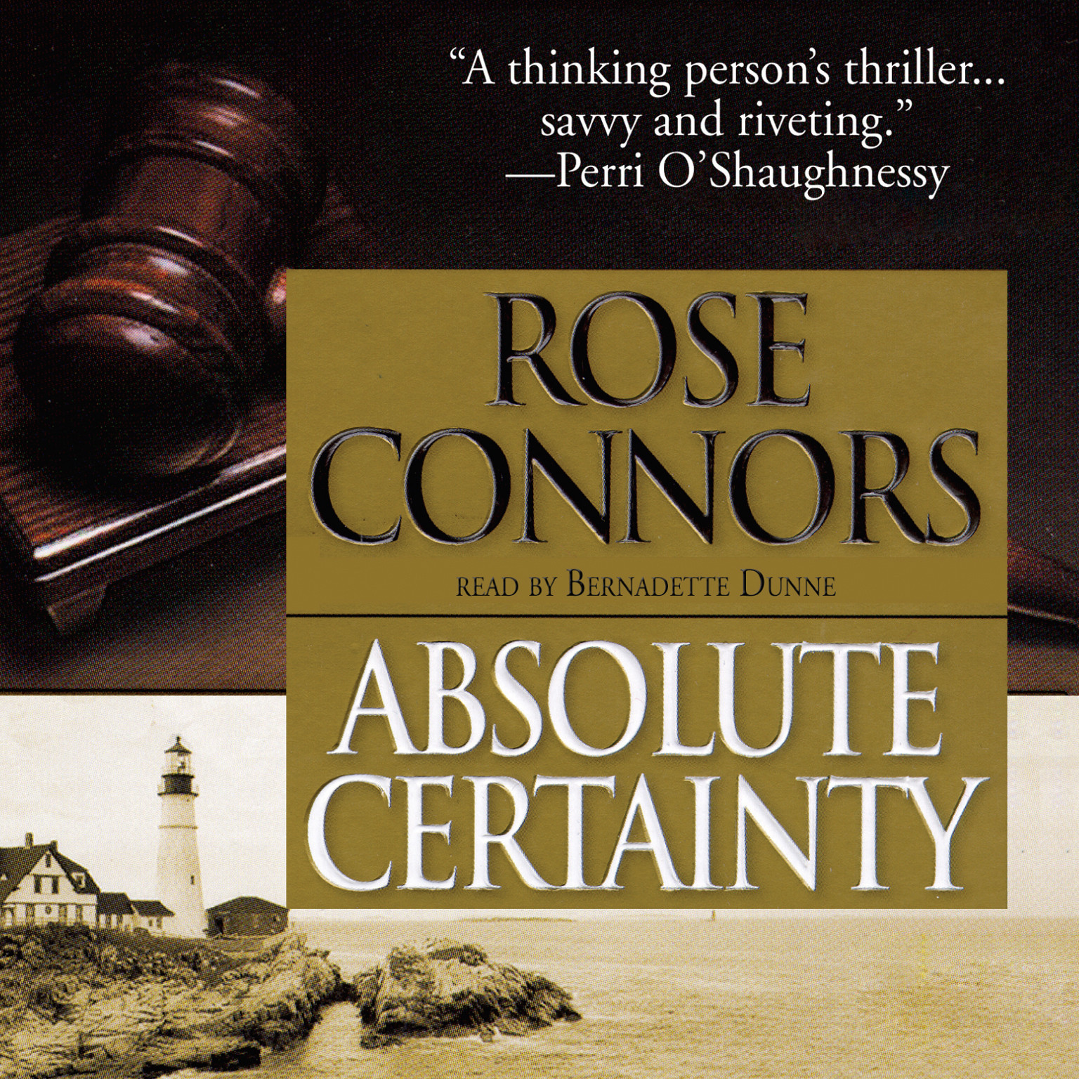 Printable Absolute Certainty Audiobook Cover Art