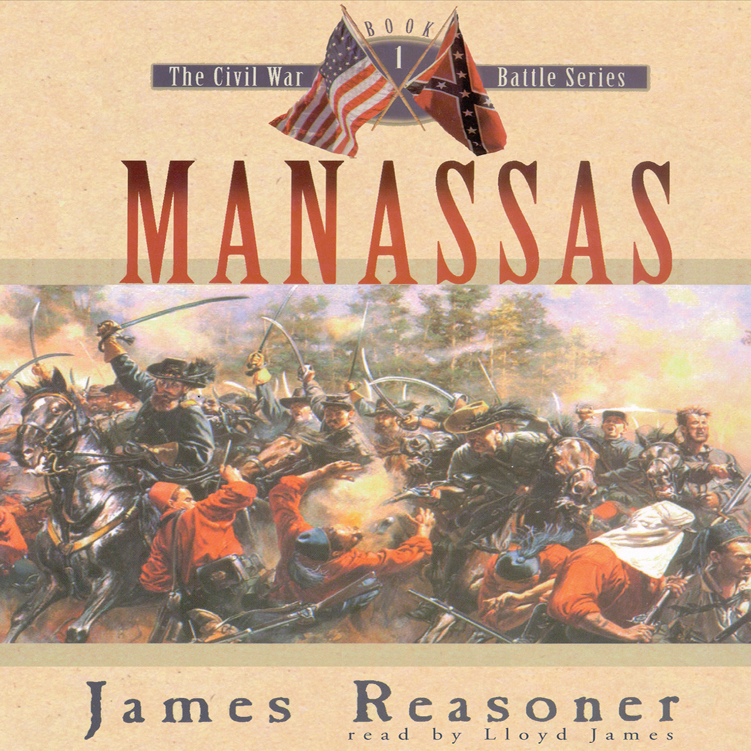 Printable Manassas Audiobook Cover Art