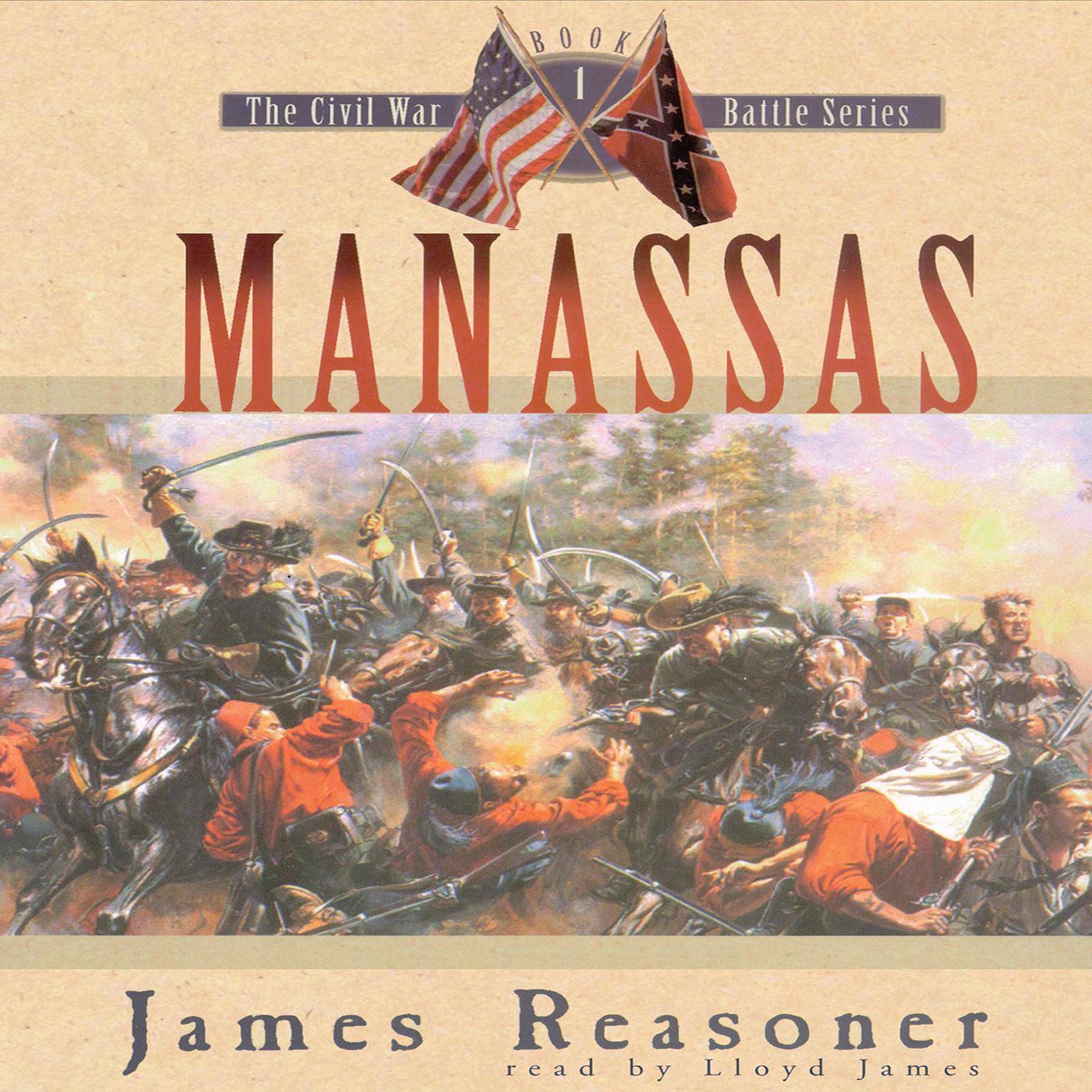 Manassas Audiobook, by James Reasoner