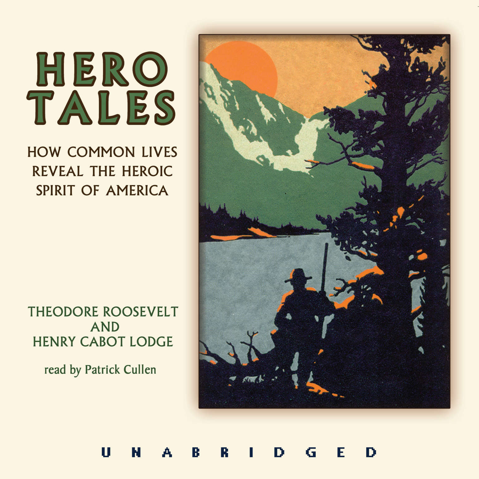 Printable Hero Tales Audiobook Cover Art