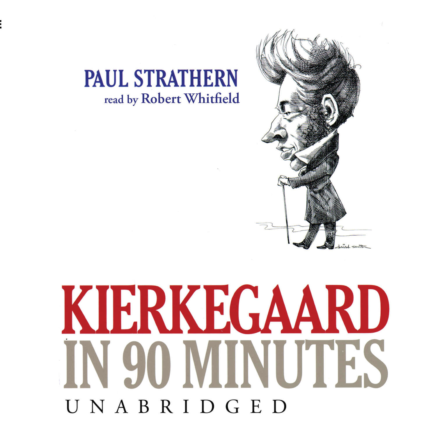 Printable Kierkegaard in 90 Minutes Audiobook Cover Art