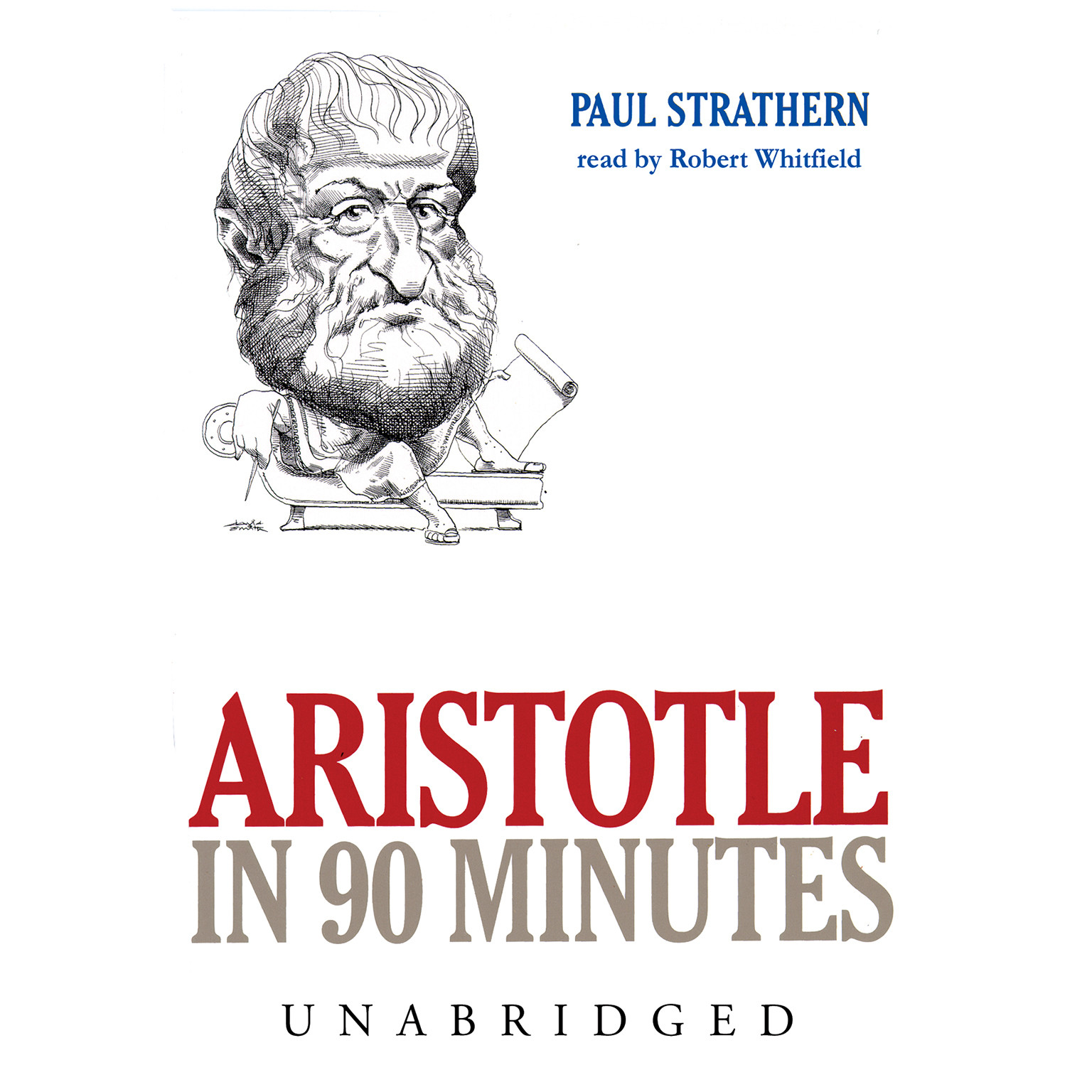 Printable Aristotle in 90 Minutes Audiobook Cover Art