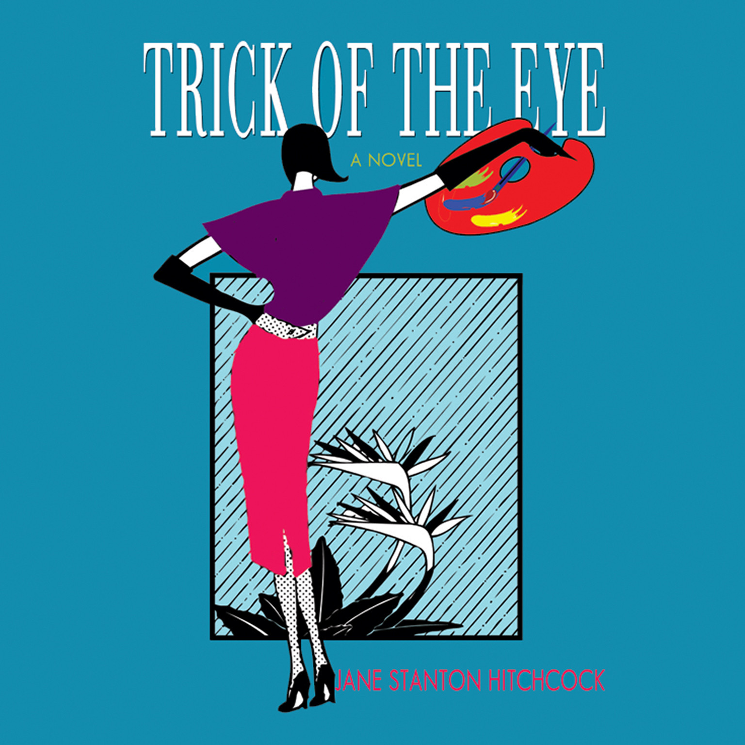 Printable Trick of the Eye Audiobook Cover Art