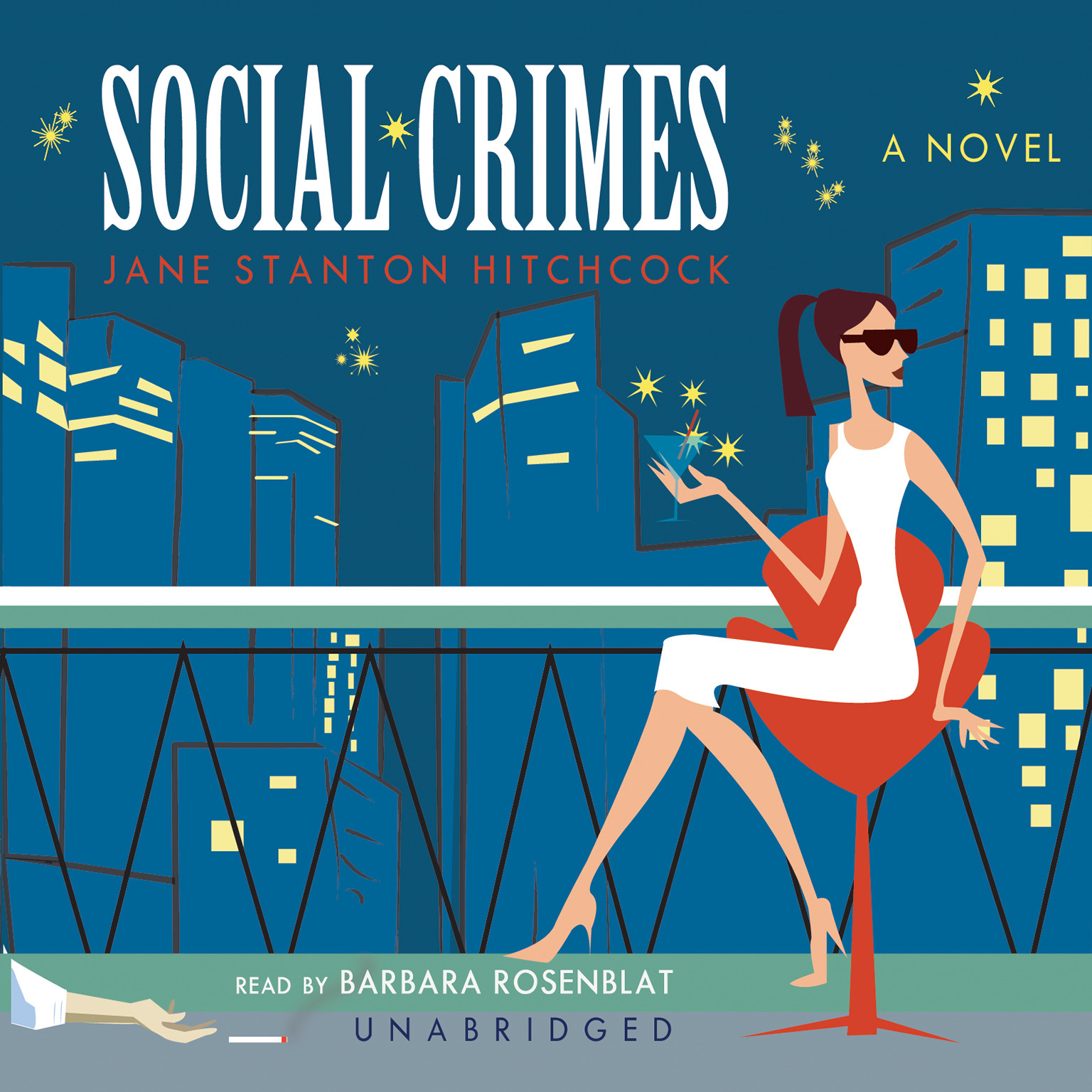 Printable Social Crimes Audiobook Cover Art