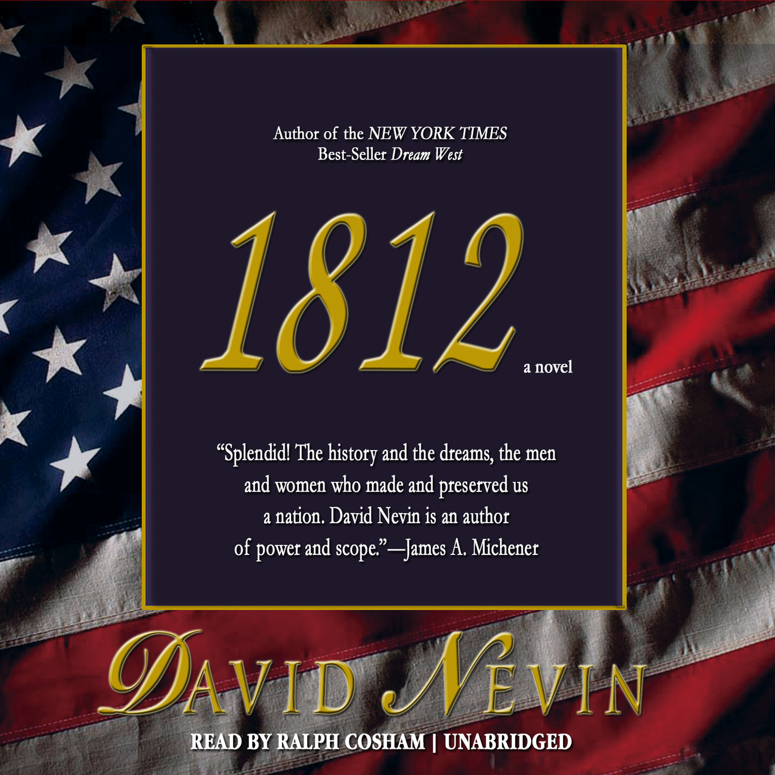 Printable 1812 Audiobook Cover Art
