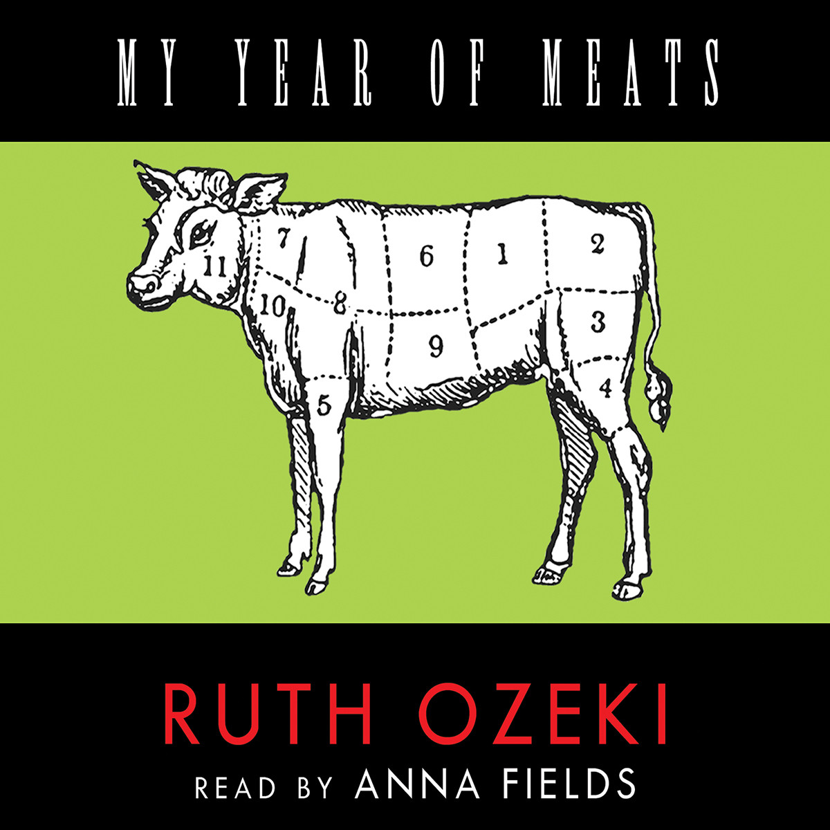 Printable My Year of Meats Audiobook Cover Art