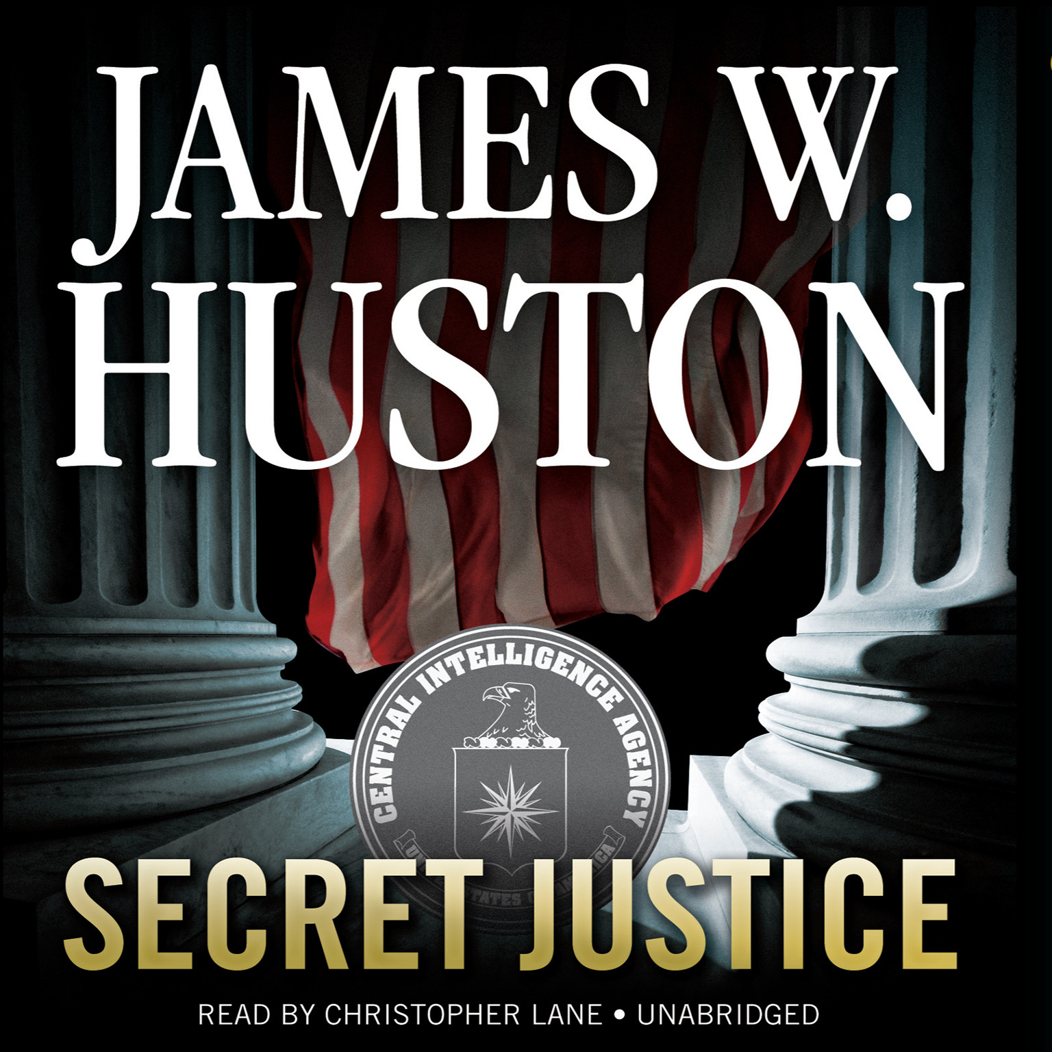 Printable Secret Justice Audiobook Cover Art