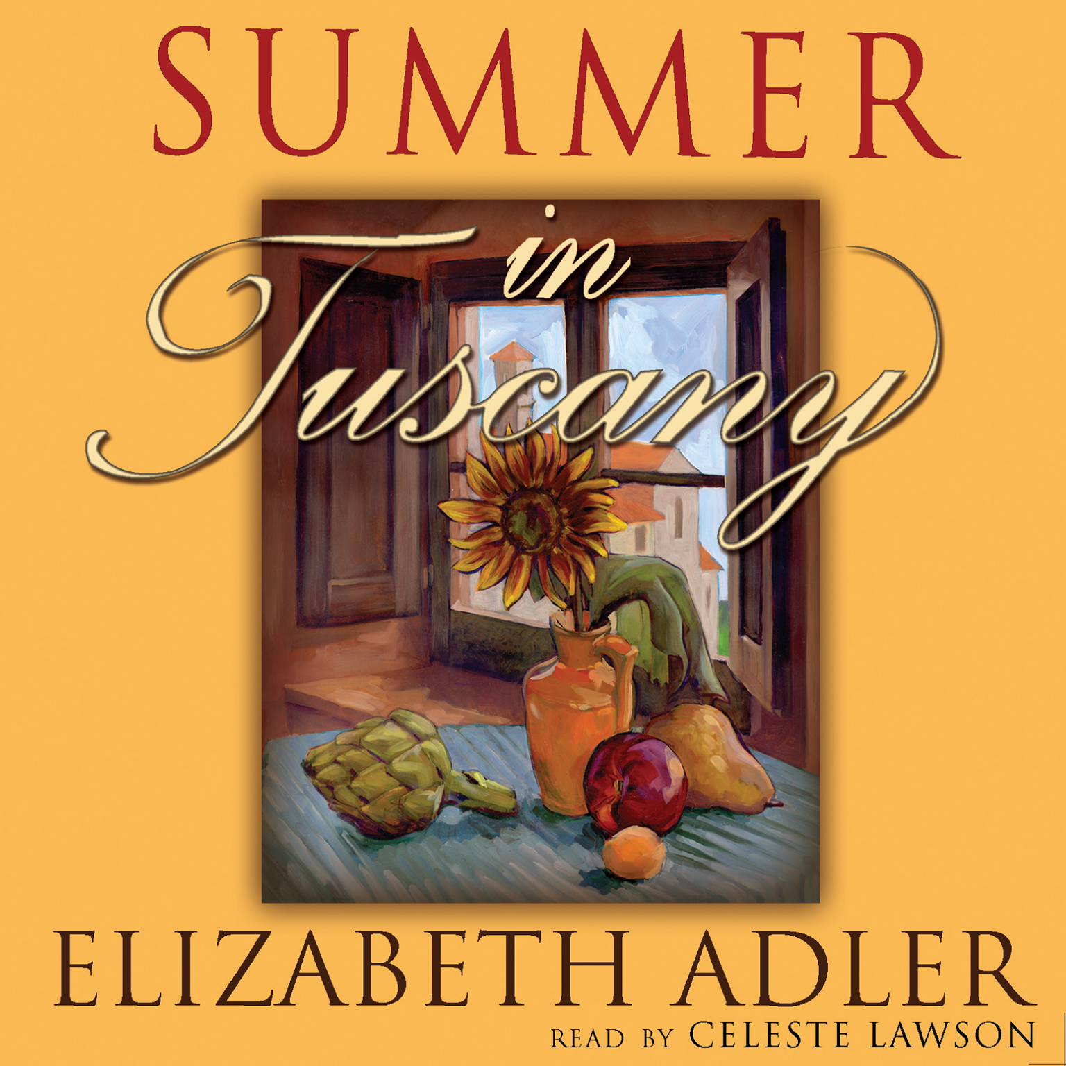 Printable Summer in Tuscany Audiobook Cover Art