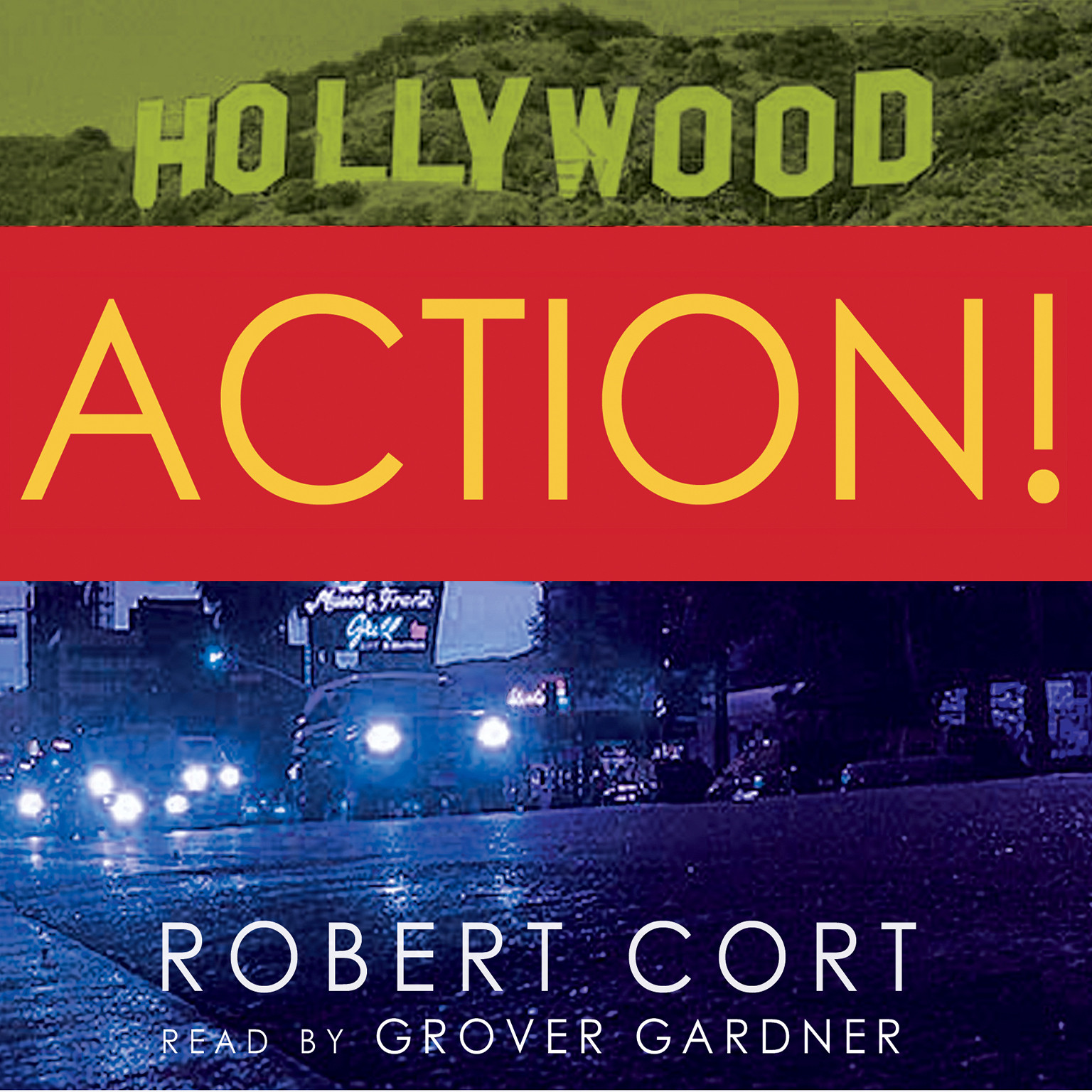 Printable Action! Audiobook Cover Art