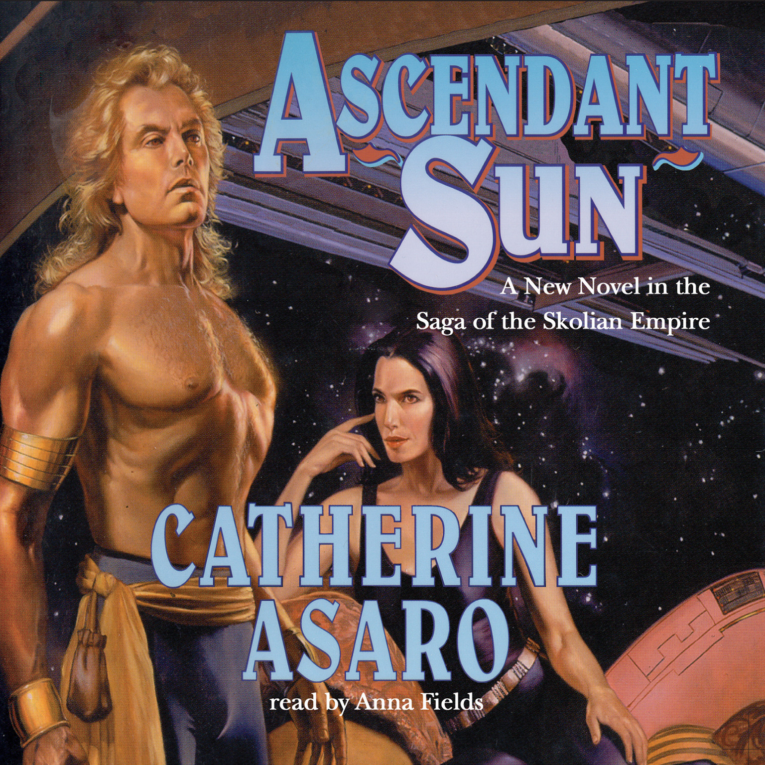 Printable Ascendant Sun Audiobook Cover Art
