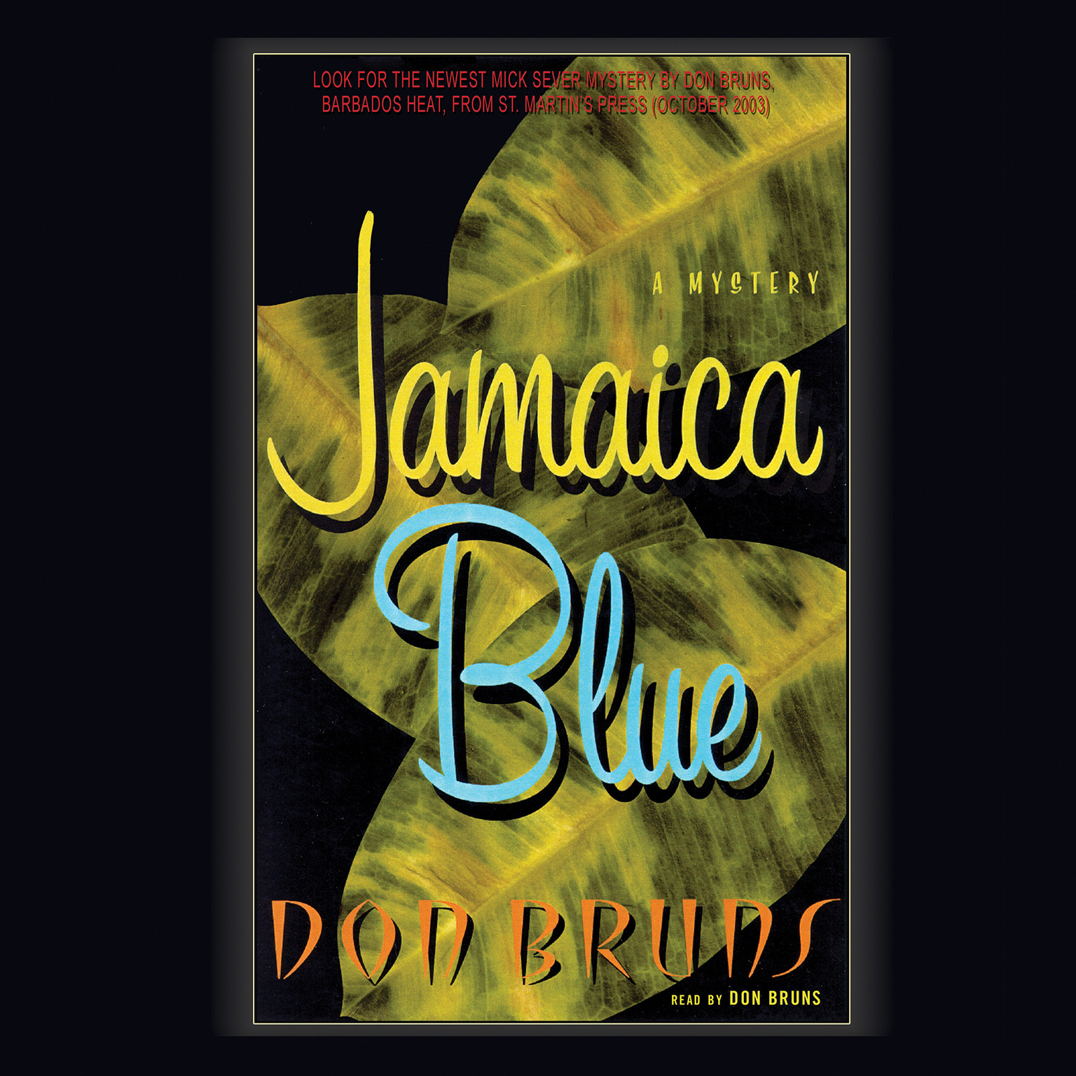Printable Jamaica Blue Audiobook Cover Art