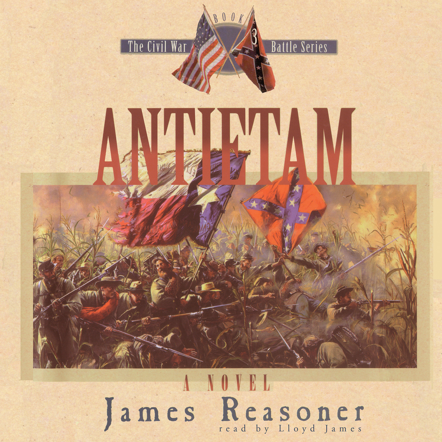 Printable Antietam Audiobook Cover Art