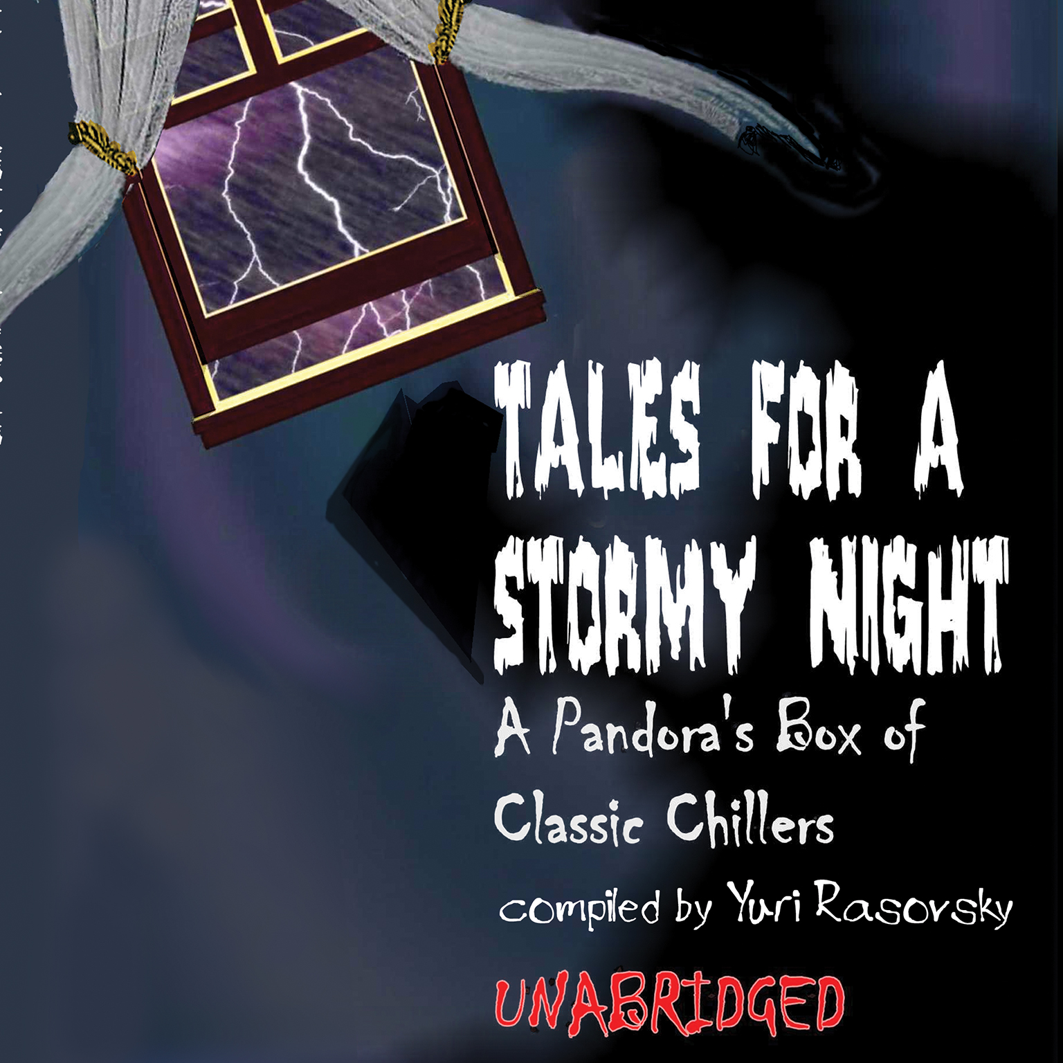 Printable Tales for a Stormy Night: A Pandora's Box of Classic Chillers Audiobook Cover Art